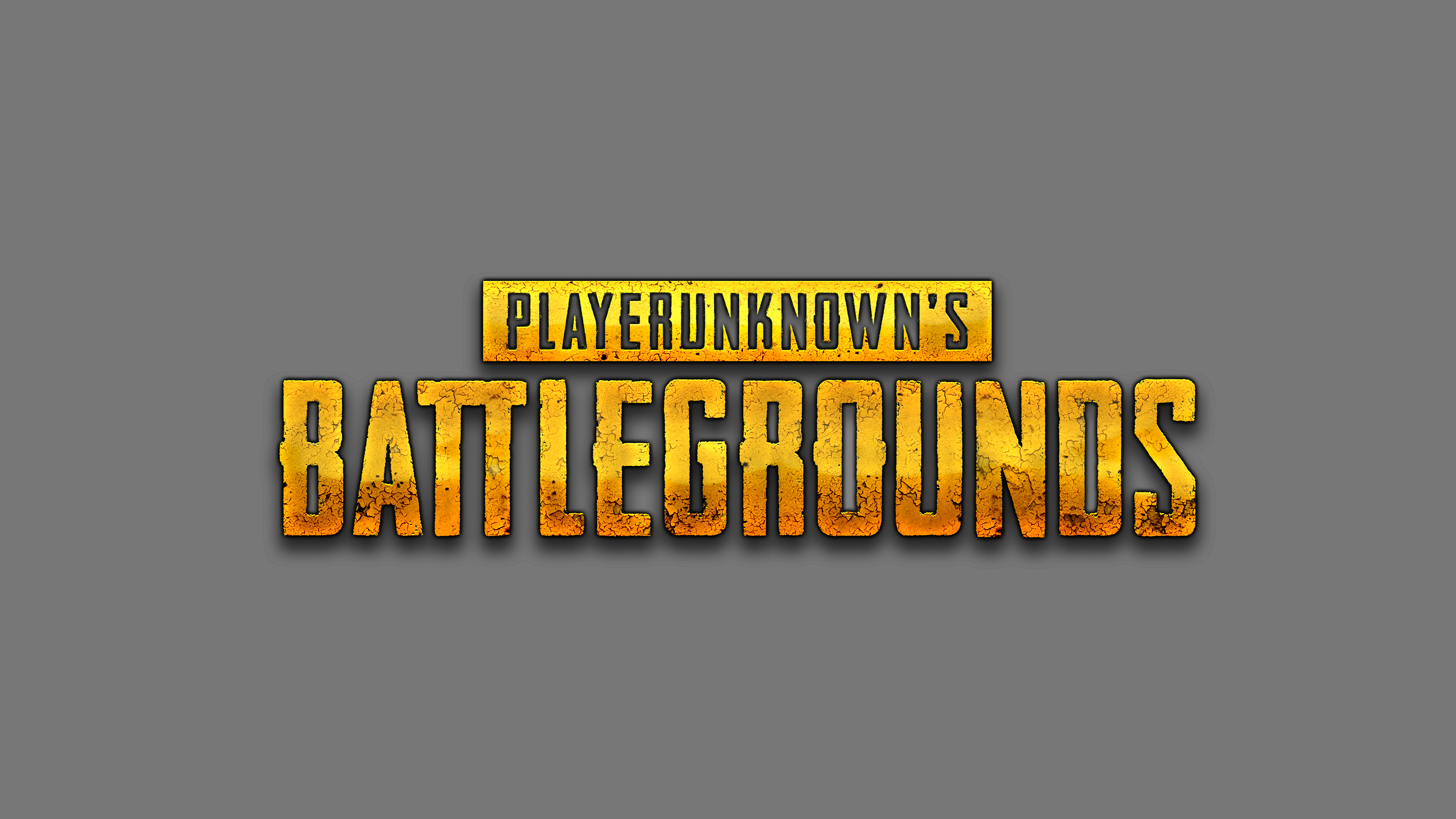 Playerunknown S Battlegrounds Wallpapers: PlayerUnknowns Battlegrounds Logo 5k, HD Games, 4k