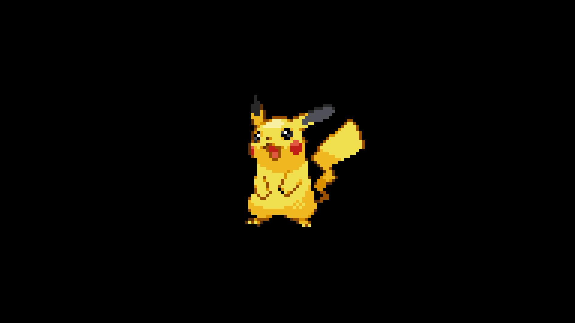 Pokemon 8 Bit Minimalism (Macbook Pro Retina)