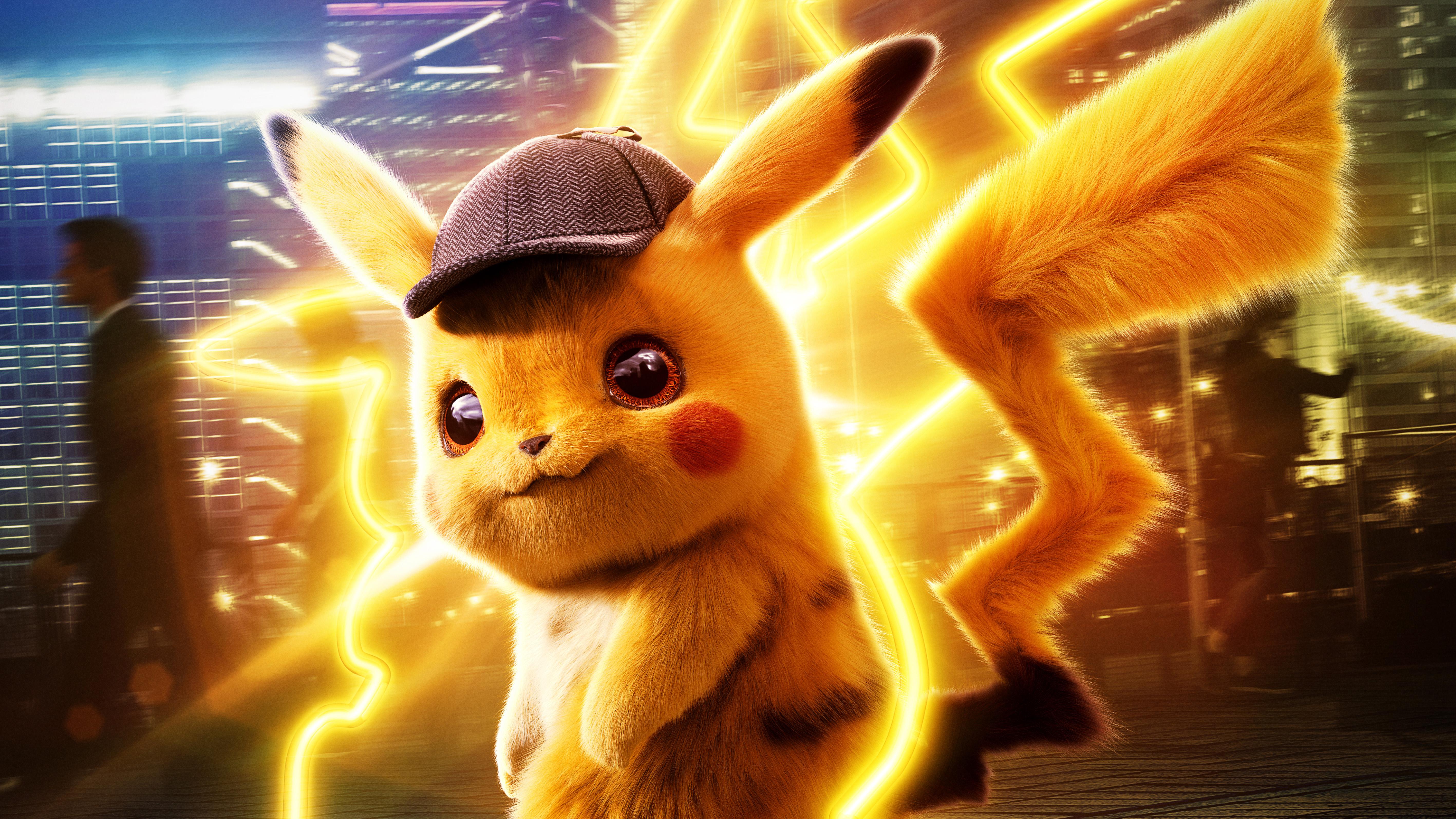 Pokemon Detective Pikachu 5k Hd Movies 4k Wallpapers