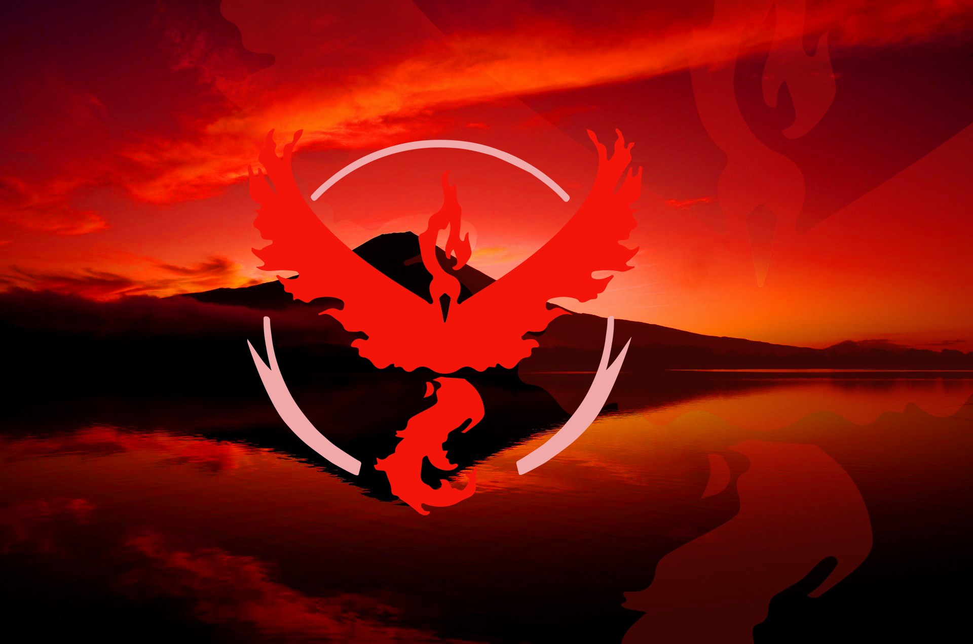 Pokemon GO Team Valor, HD Games, 4k Wallpapers, Images
