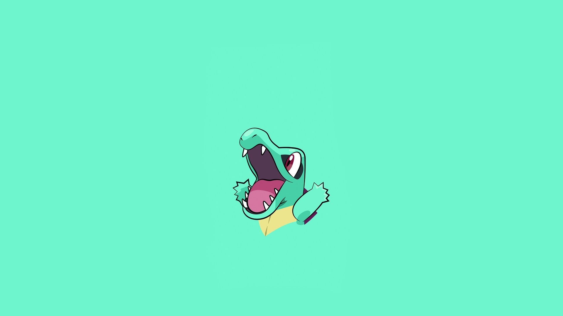 Pokemon Totodile Minimalism Hd Artist 4k Wallpapers Images