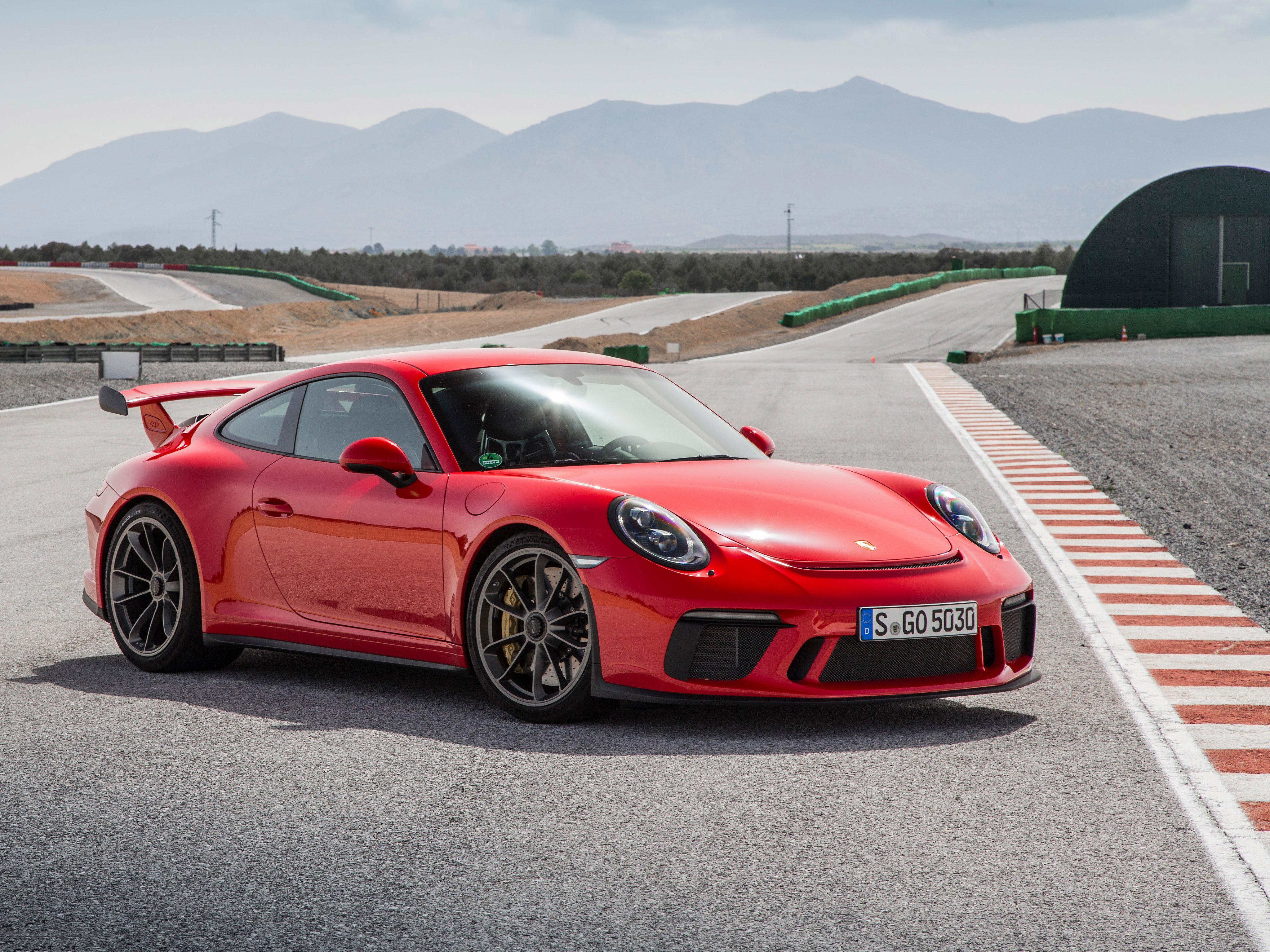 4k Porche Carrera Gt Wallpaper: Porsche 911 GT3 2018, HD Cars, 4k Wallpapers, Images