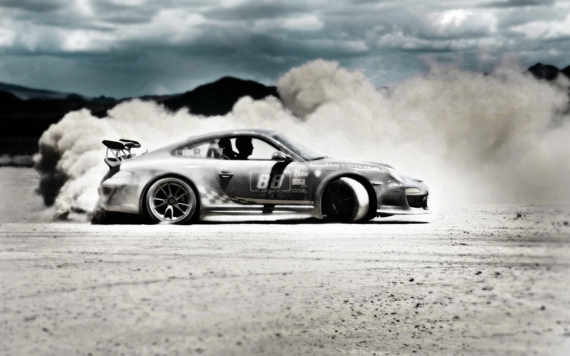 Porsche 911 gt3 drift hd cars 4k wallpapers images - Drift car wallpaper ...