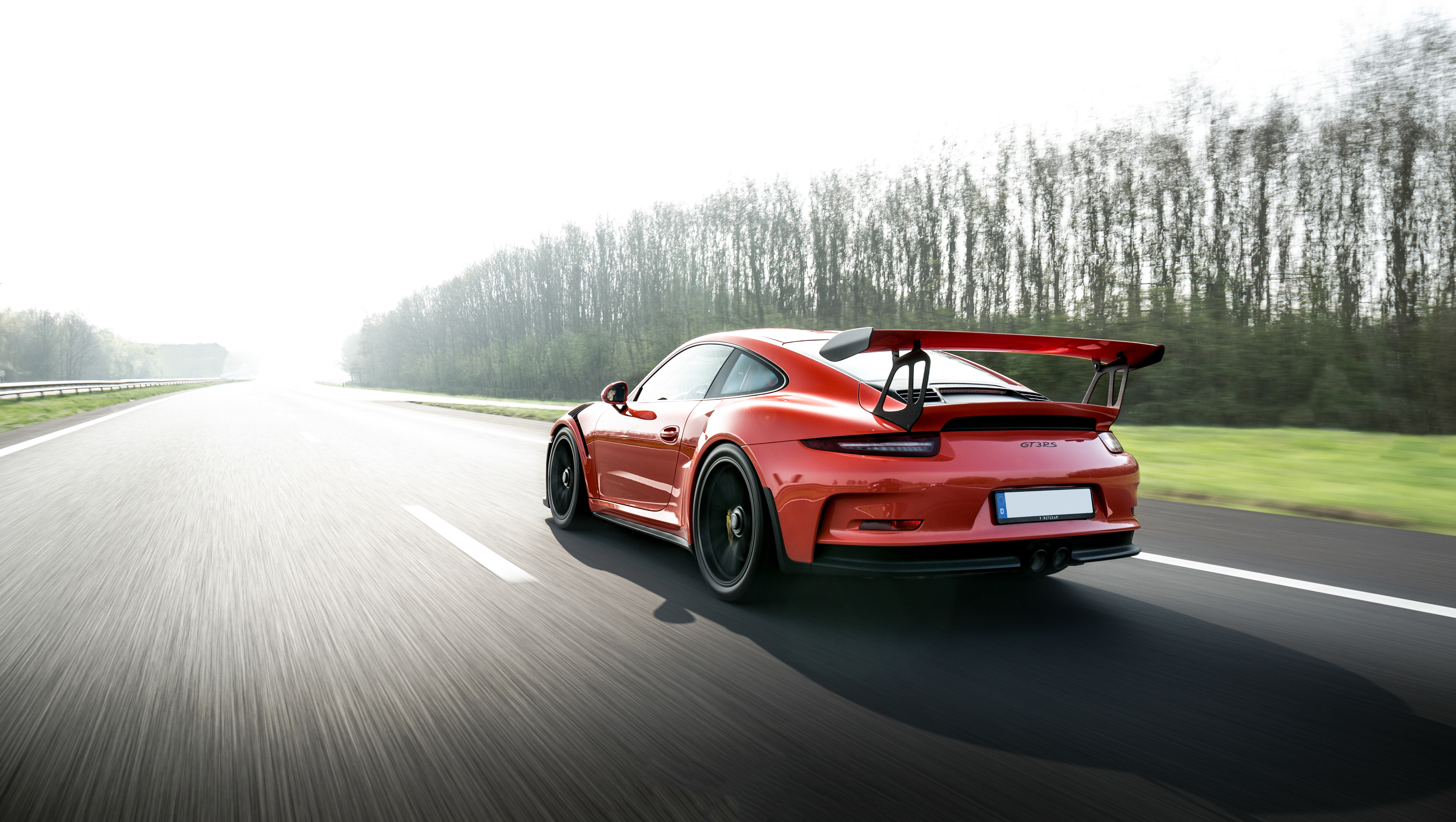 Porsche 911 GT3 RS 2018 5k Rear, HD Cars, 4k Wallpapers