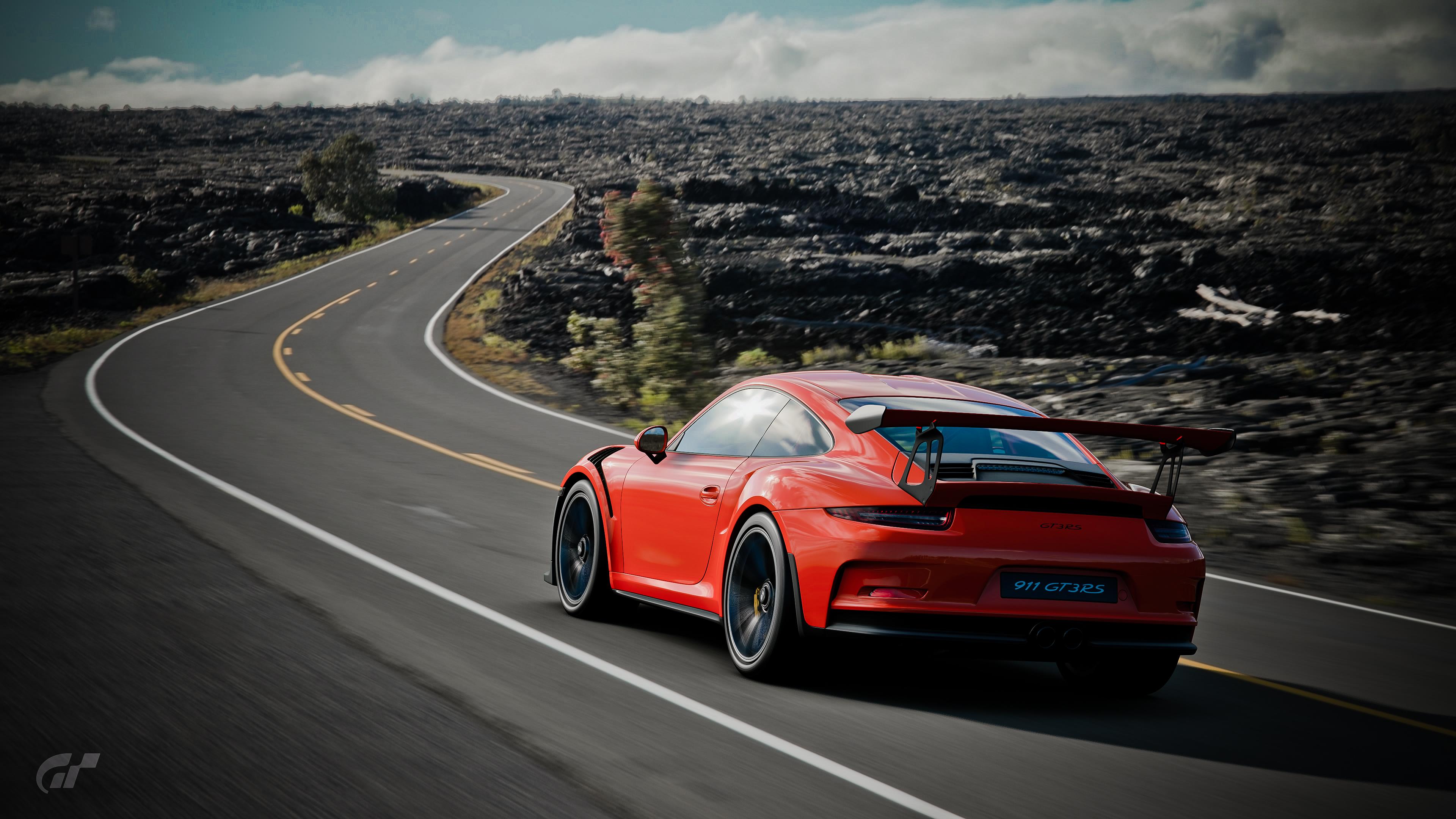 Sport Wallpaper Porsche 911: Porsche 911 GT3 RS Gran Turism Sport, HD Games, 4k