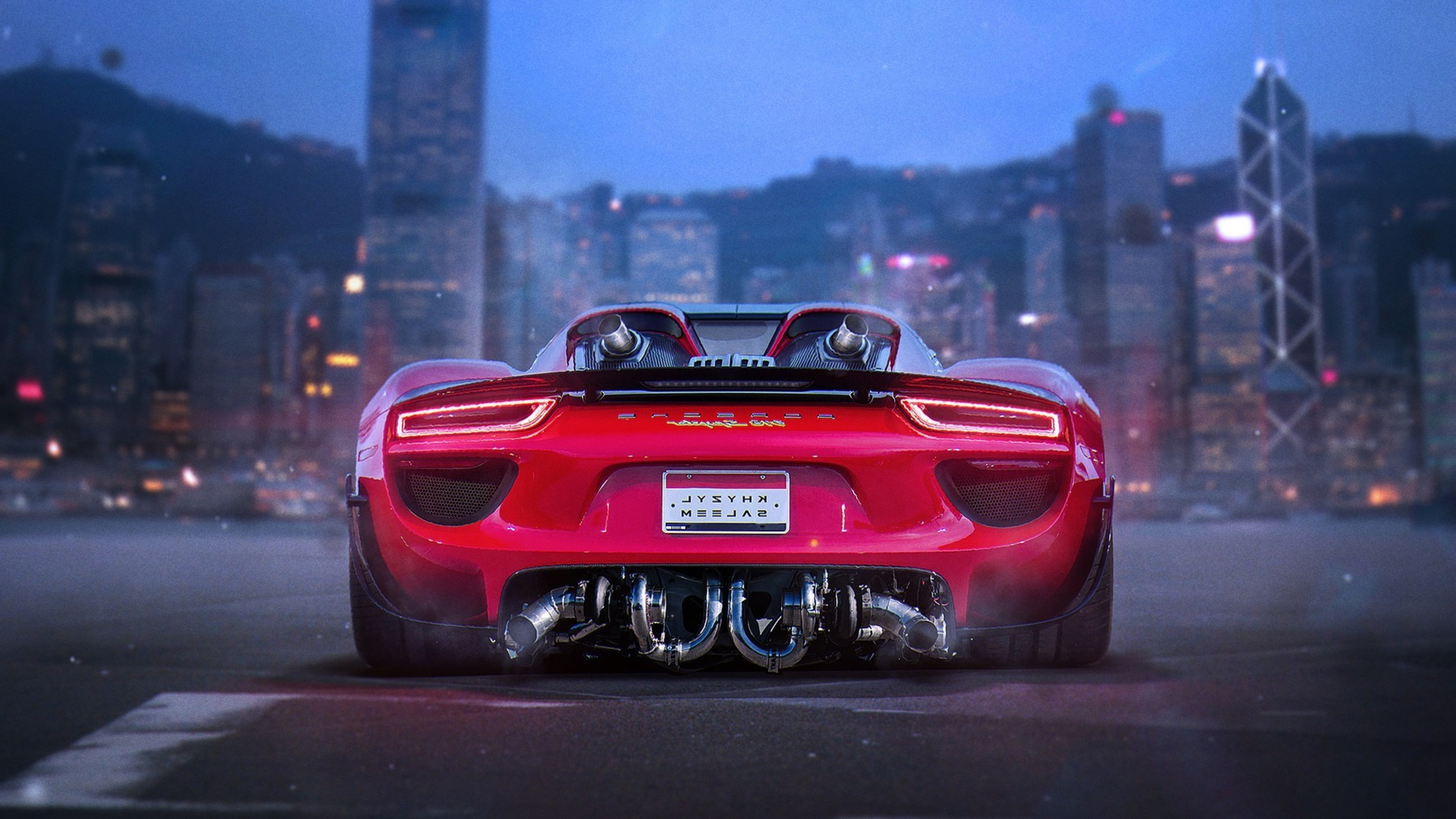 Porsche 918 Spyder HD 1152x864 Resolution