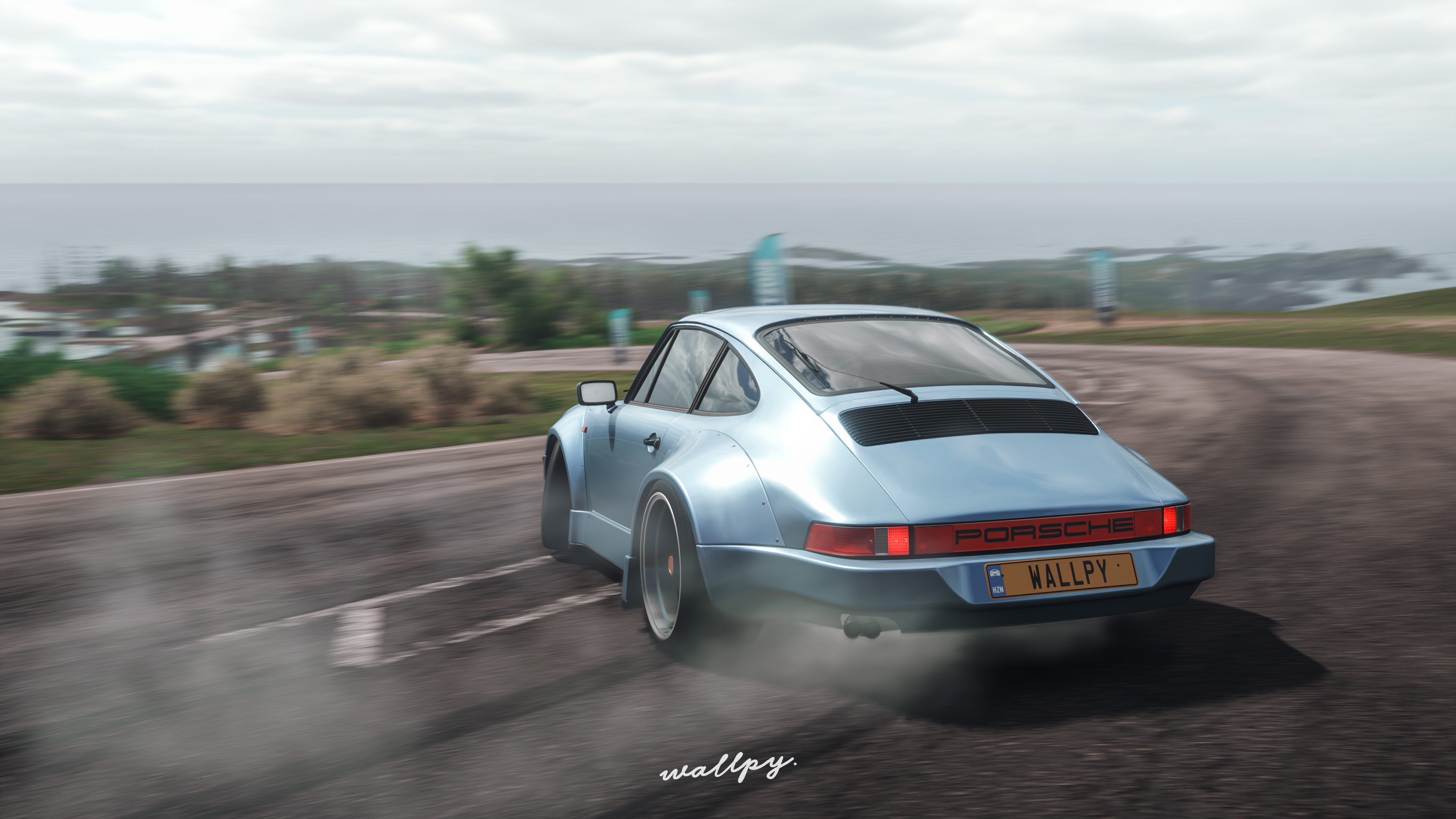 Porsche drift forza horizon 4 hd games 4k wallpapers images backgrounds photos and pictures - Forza logo wallpaper ...