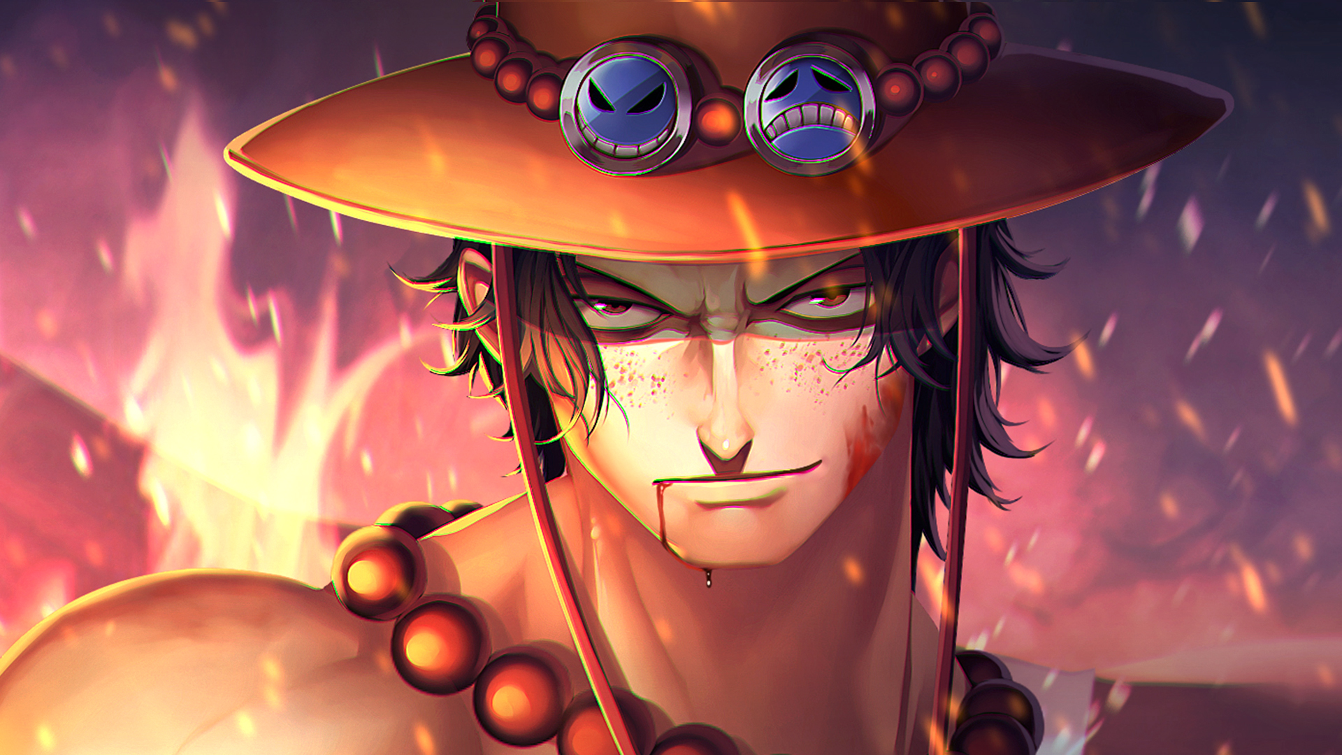 Portgas D Ace HD Anime 4k Wallpapers Images Backgrounds Photos