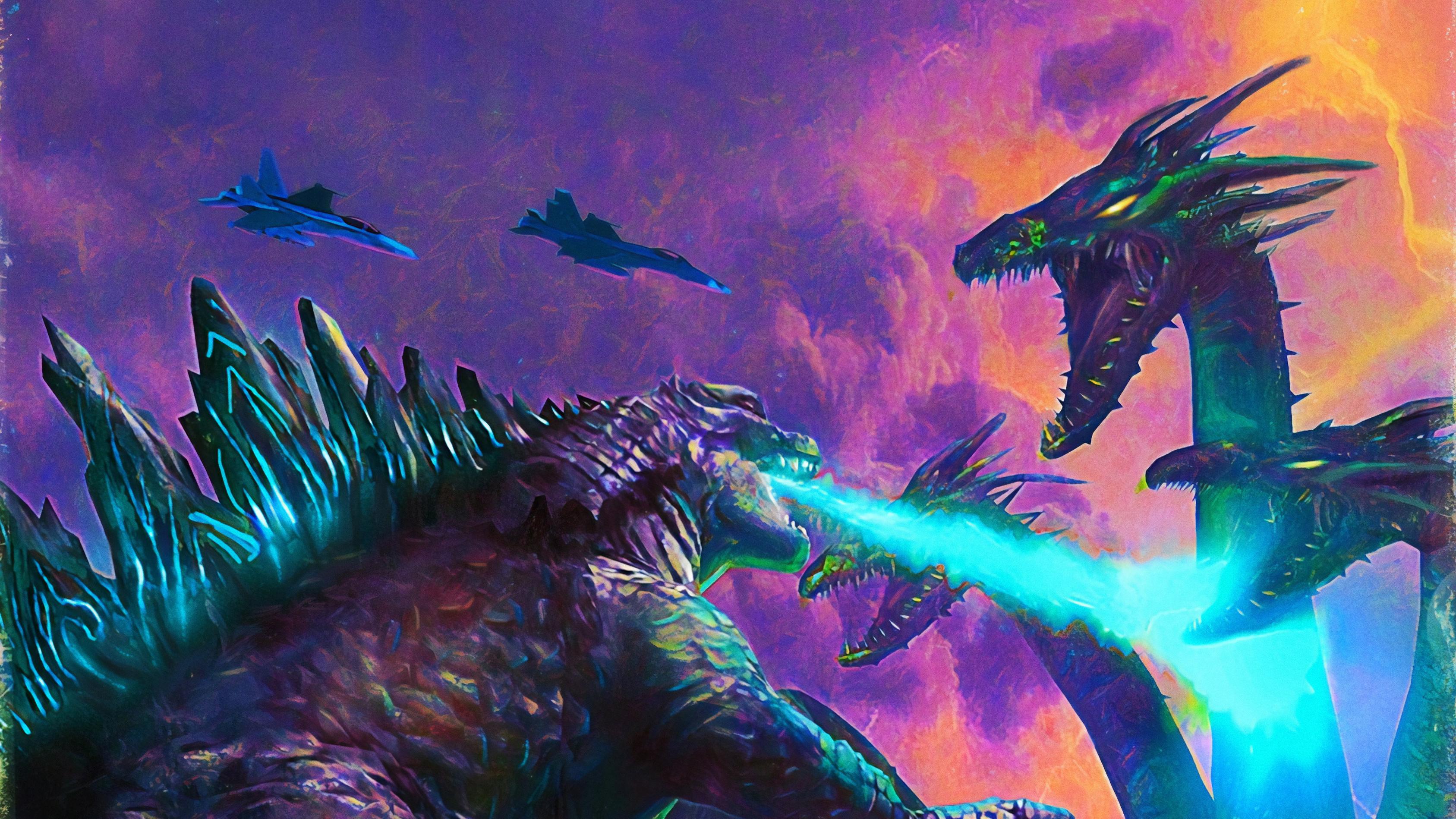 Poster Art Godzilla King Of The Monsters, HD Movies, 4k ...