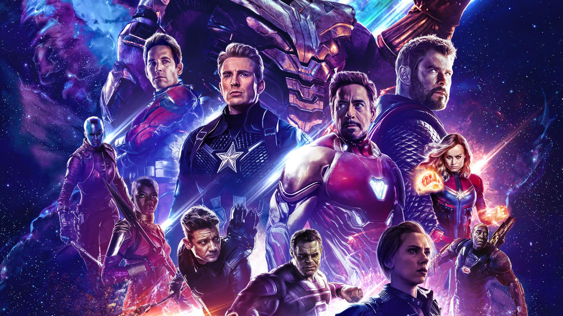 Movie Poster 2019: Poster Avengers Endgame 2019, HD Superheroes, 4k