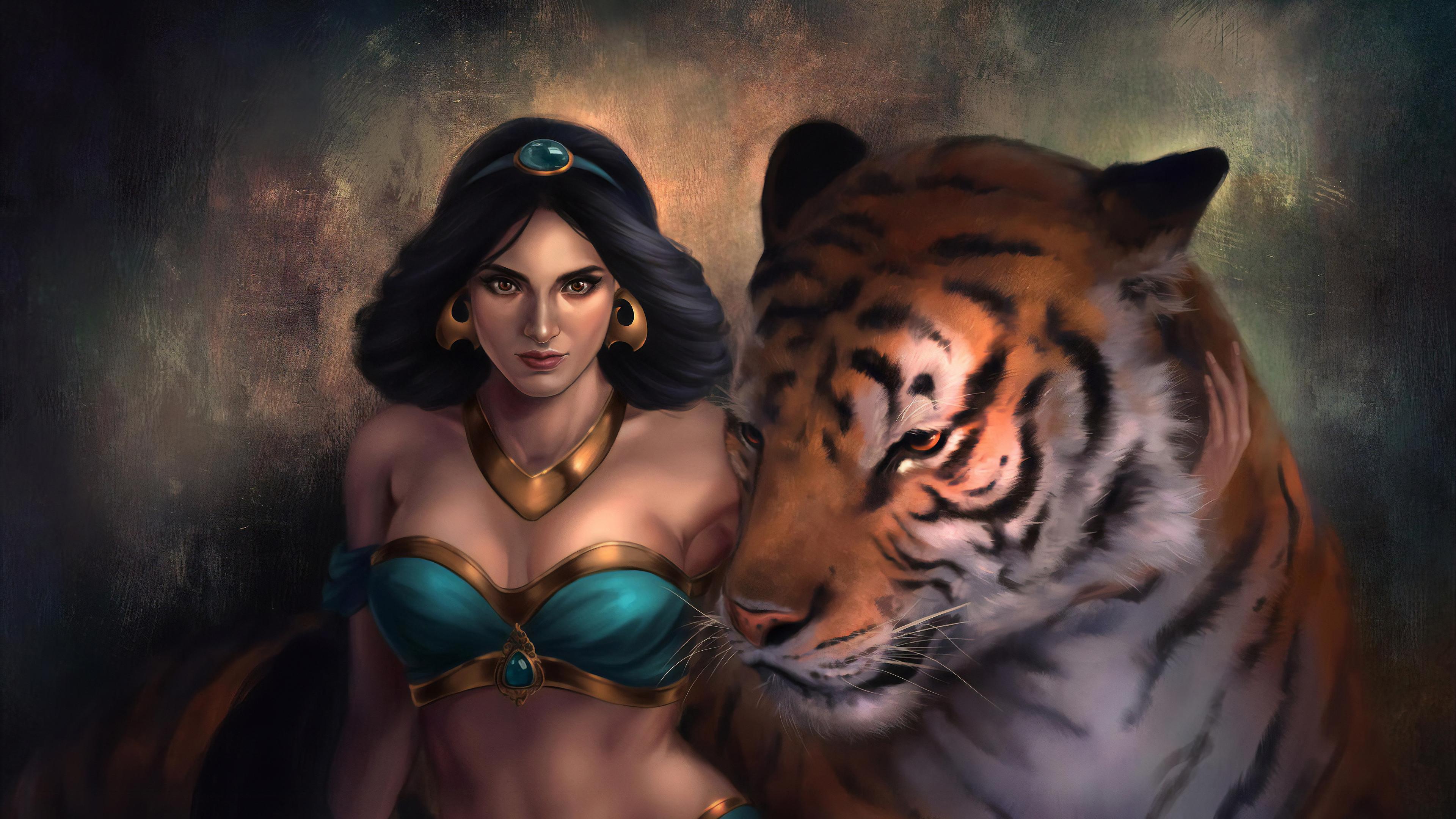Princess Jasmine And Raja Hd Movies 4k Wallpapers Images