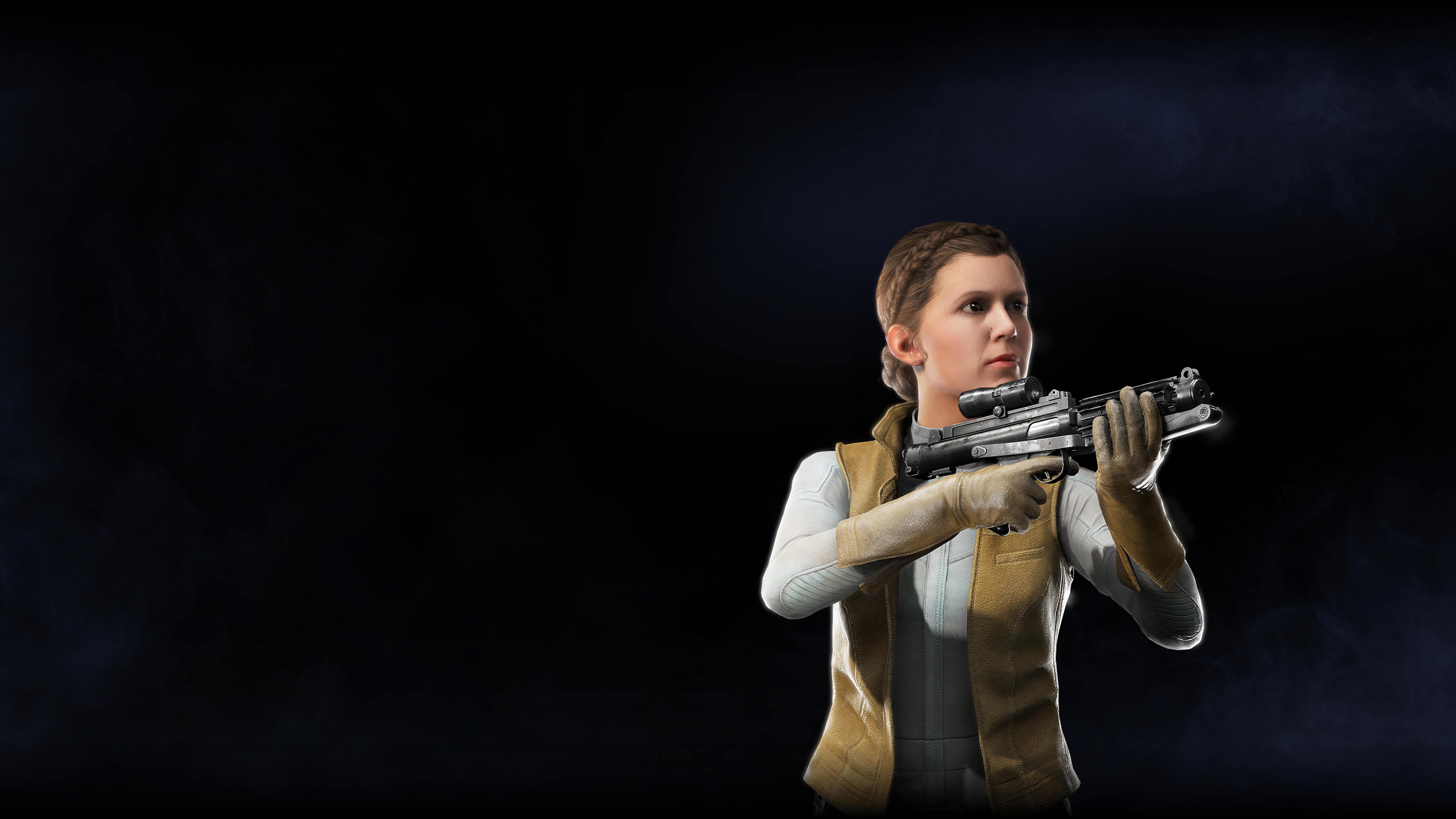 1440x2560 Princess Leia Star Wars Battlefront II 2017 ...