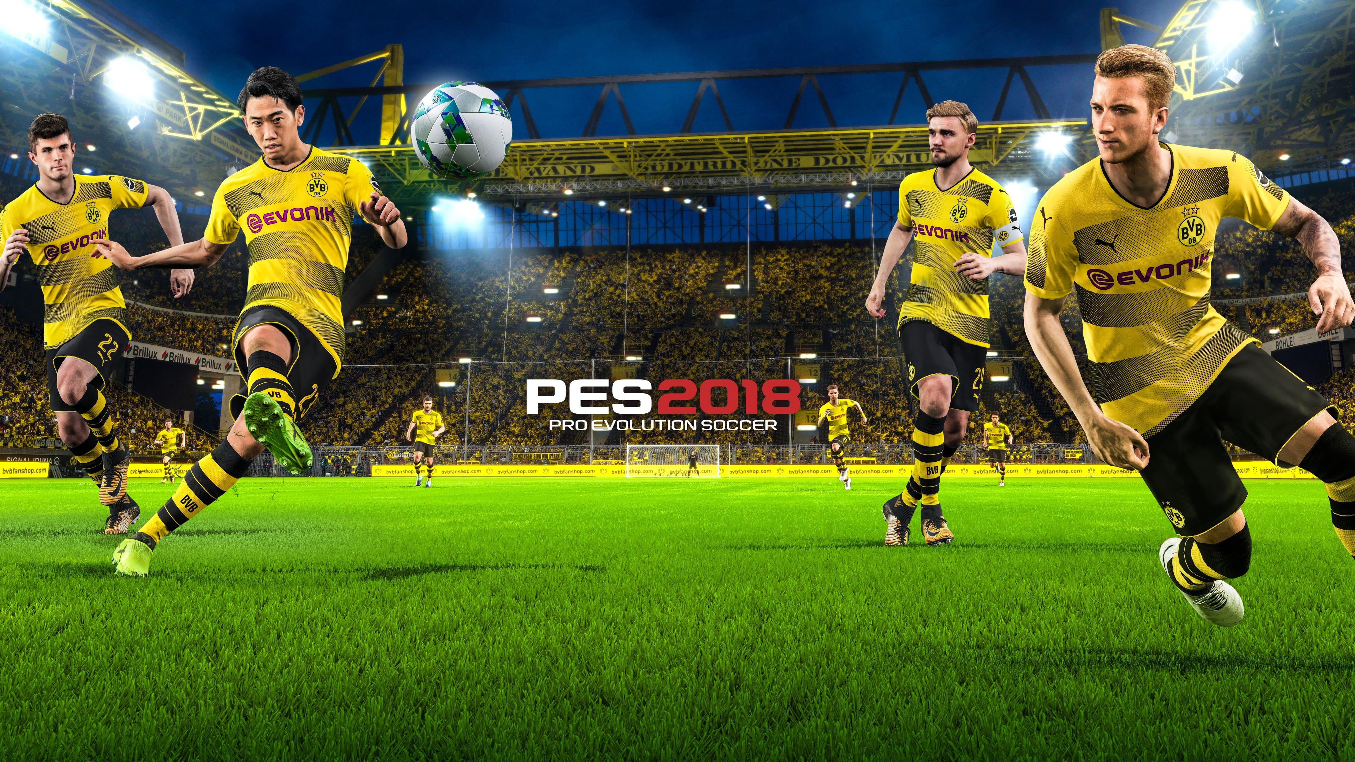 Soccer Wallpapers Backgrounds Pro: Pro Evolution Soccer 2018 4k, HD Games, 4k Wallpapers