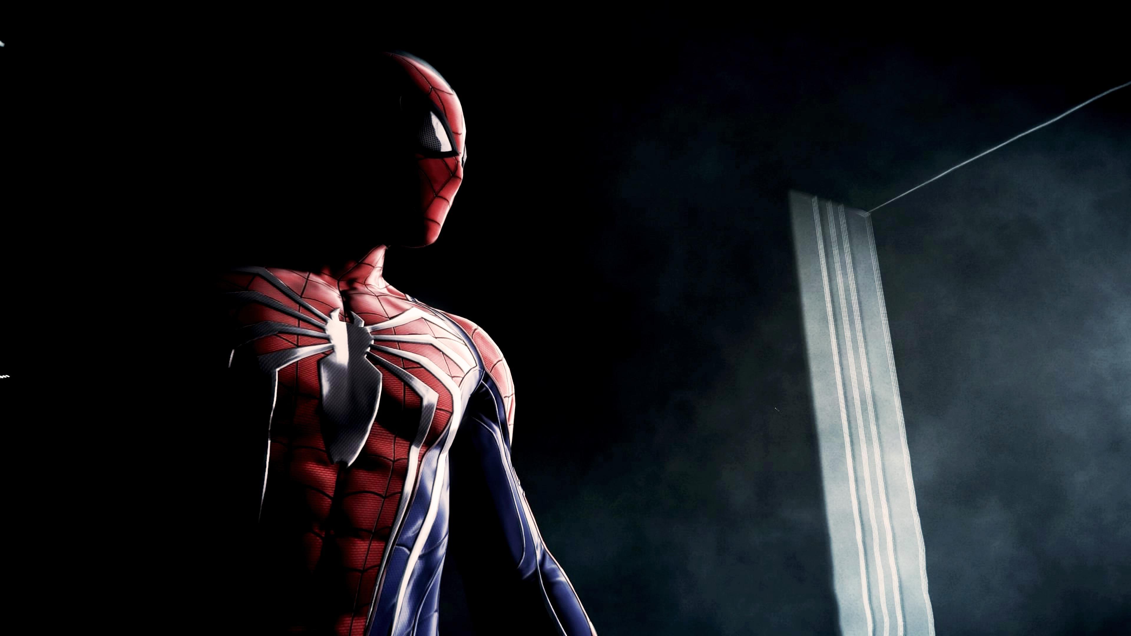 ps4 spiderman game art, hd superheroes, 4k wallpapers, images