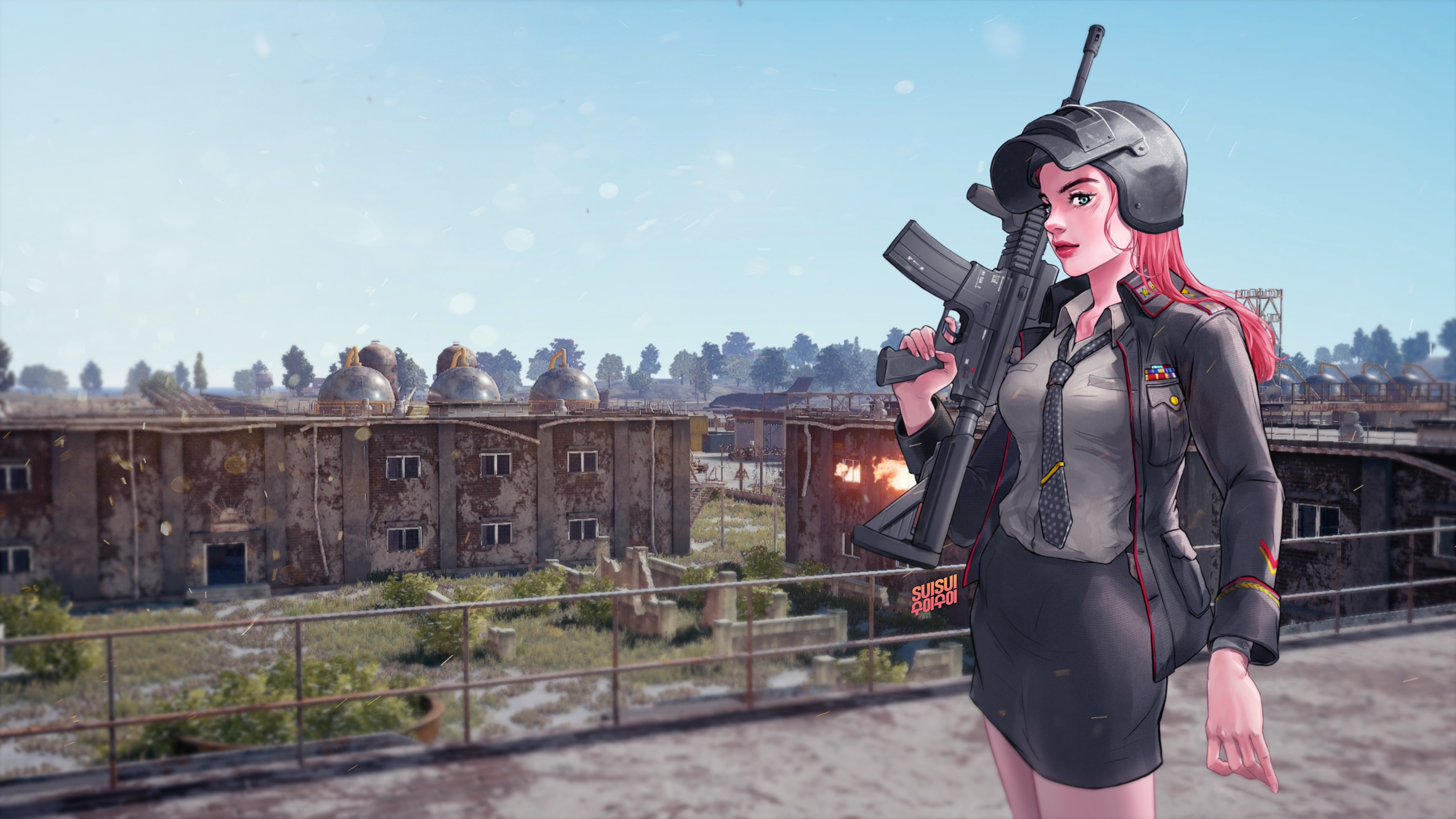 Pubg Game Girl 4k, HD Games, 4k Wallpapers, Images