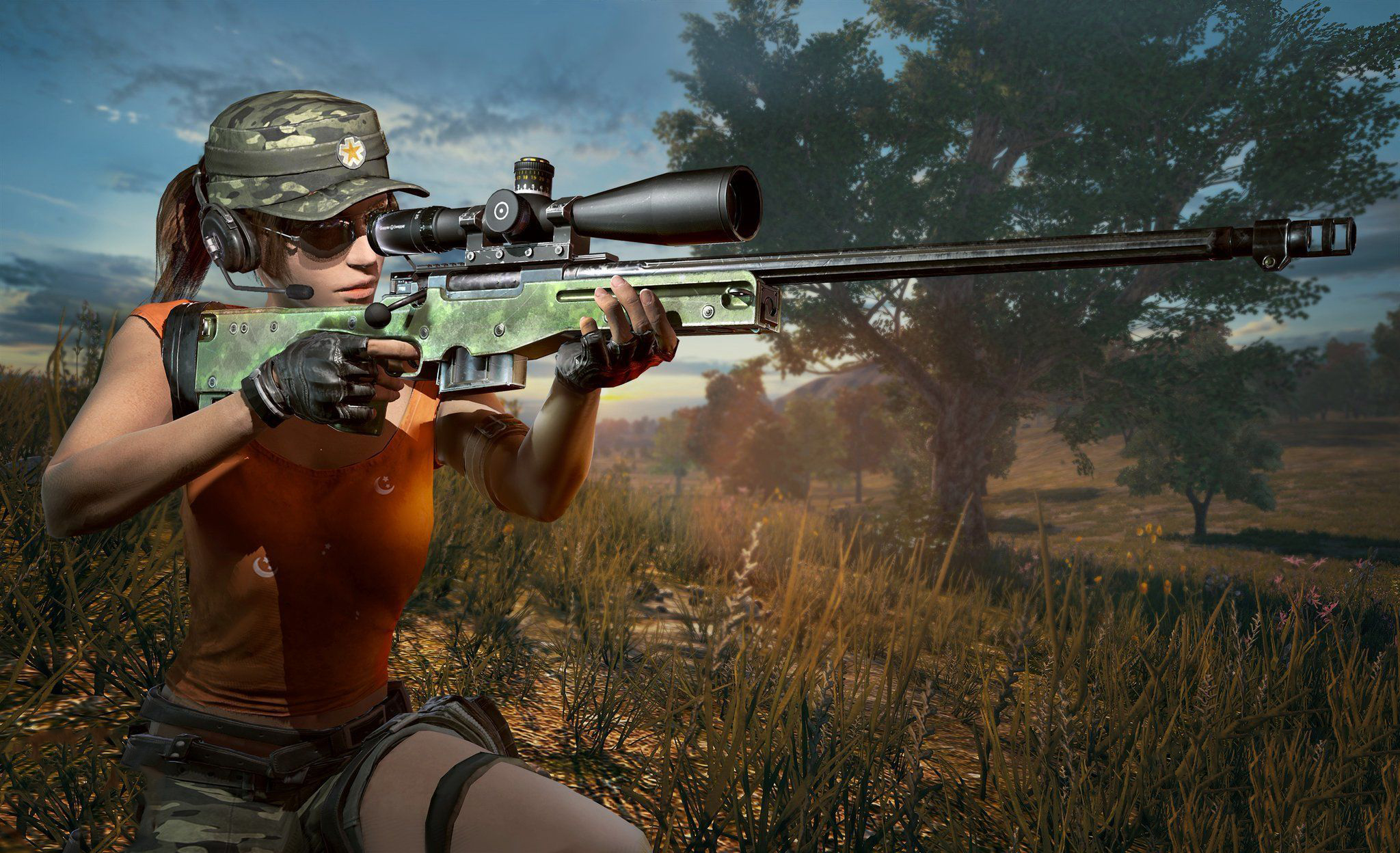 Pubg Hot Hd Wallpaper: Pubg Girl 2018, HD Games, 4k Wallpapers, Images