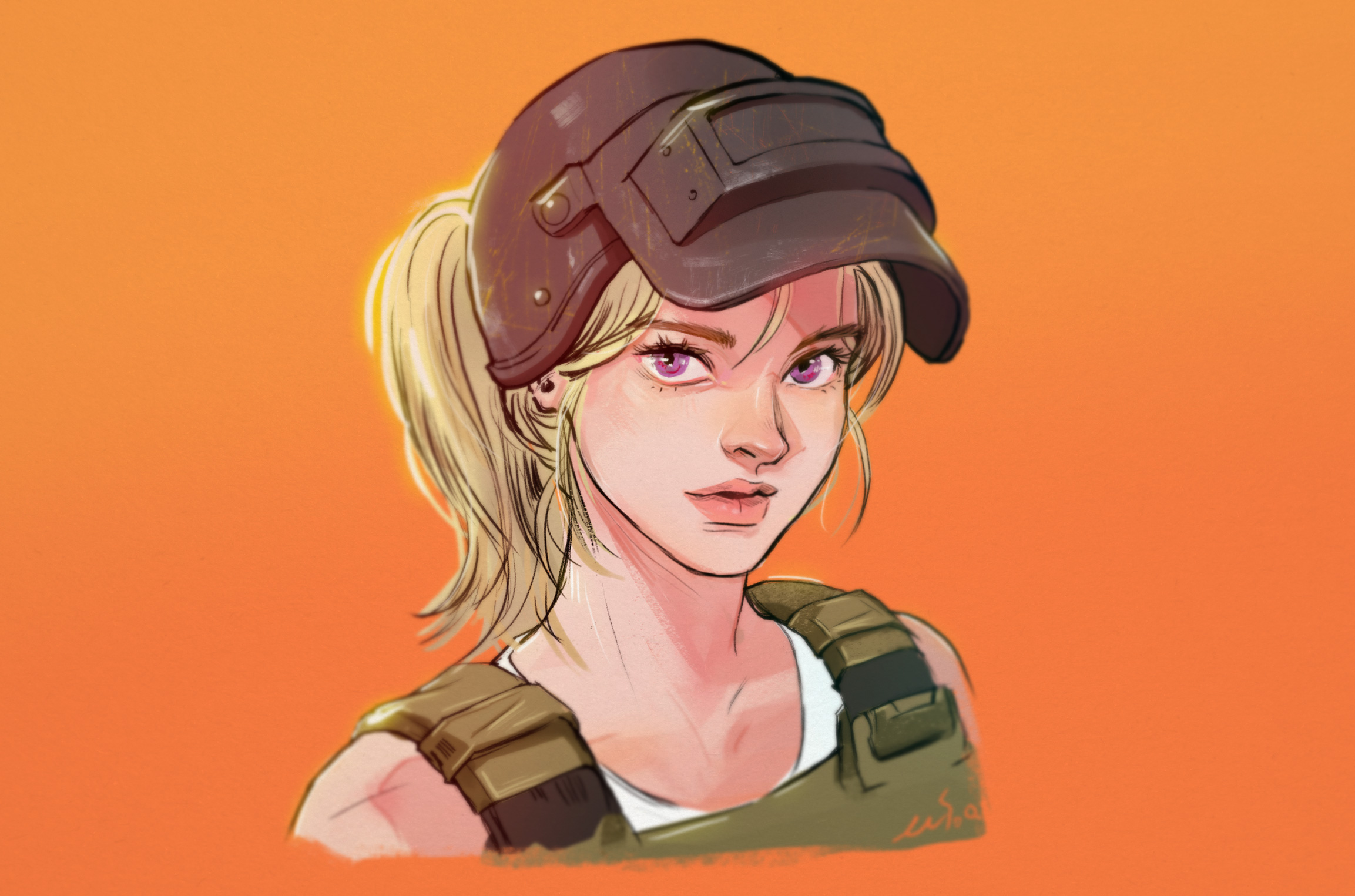 2048x1152 Pubg Game Girl Fanart 2048x1152 Resolution Hd 4k: 1366x768 Pubg Girl 1366x768 Resolution HD 4k Wallpapers