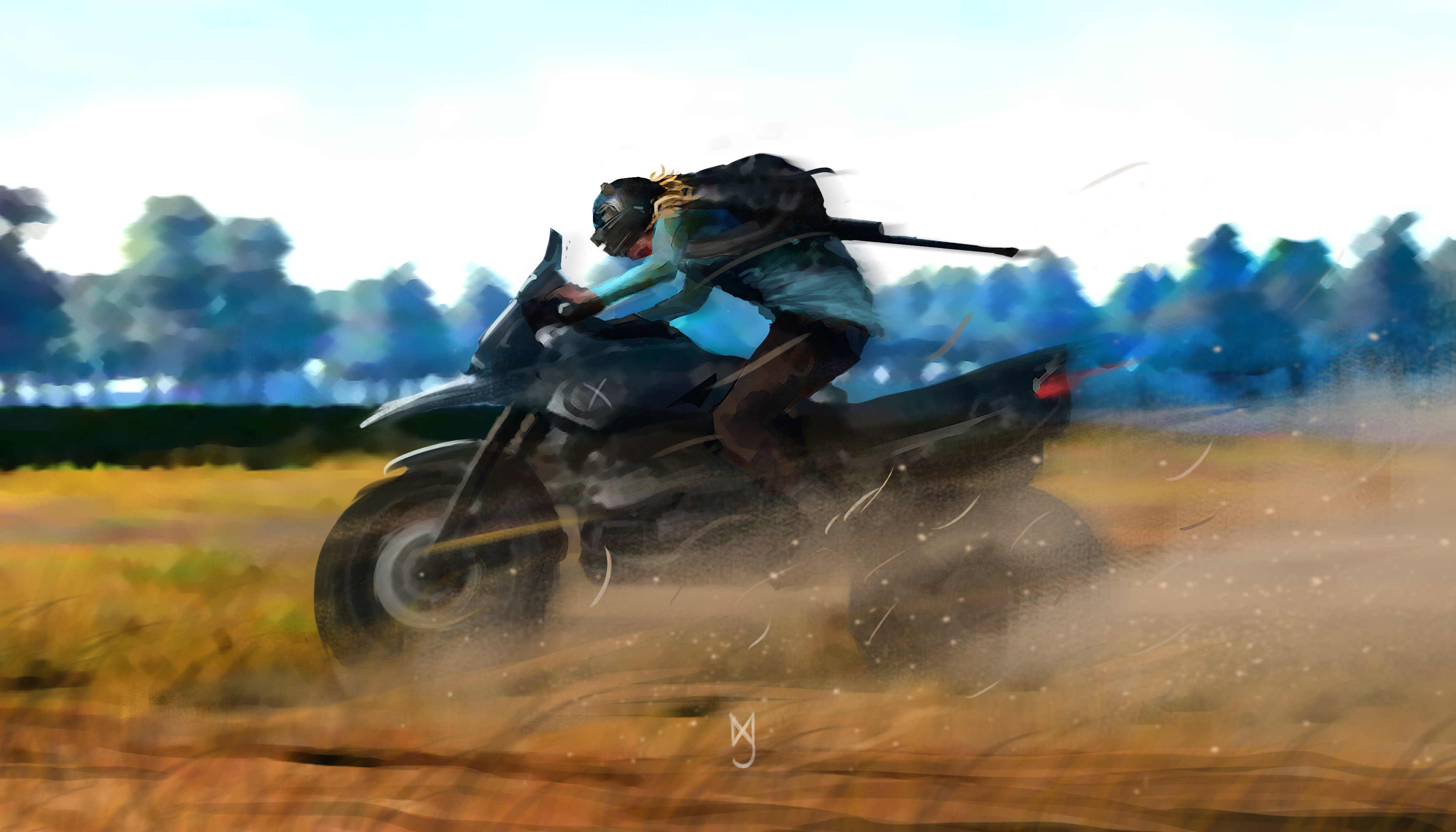 2048x1152 Pubg Bike Rider 4k 2048x1152 Resolution Hd 4k: Pubg Guy On Bike, HD Games, 4k Wallpapers, Images
