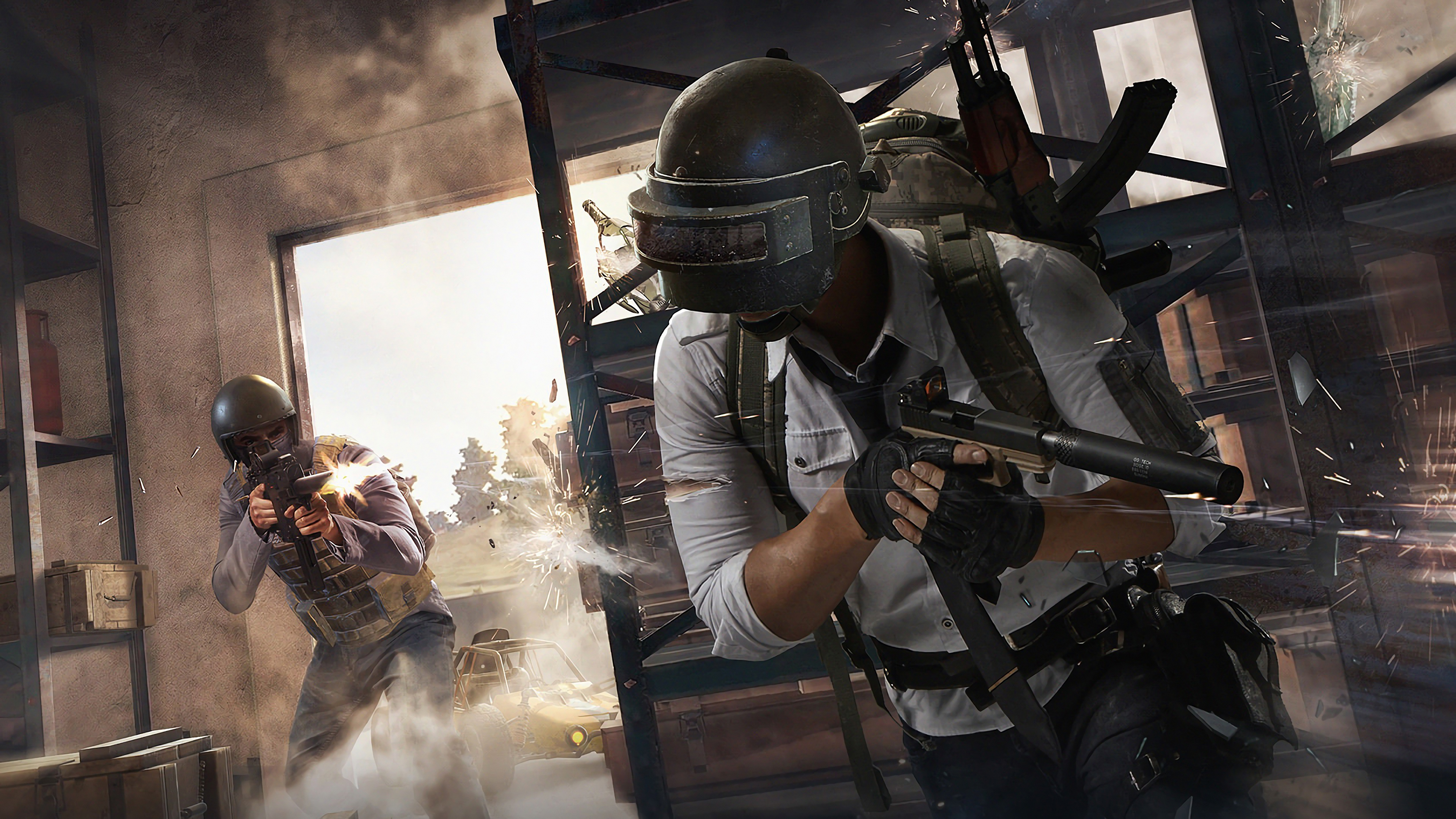 Pubg Wallpaper Hd Pic: 1440x900 PUBG Helmet Guy 2018 4k 1440x900 Resolution HD 4k