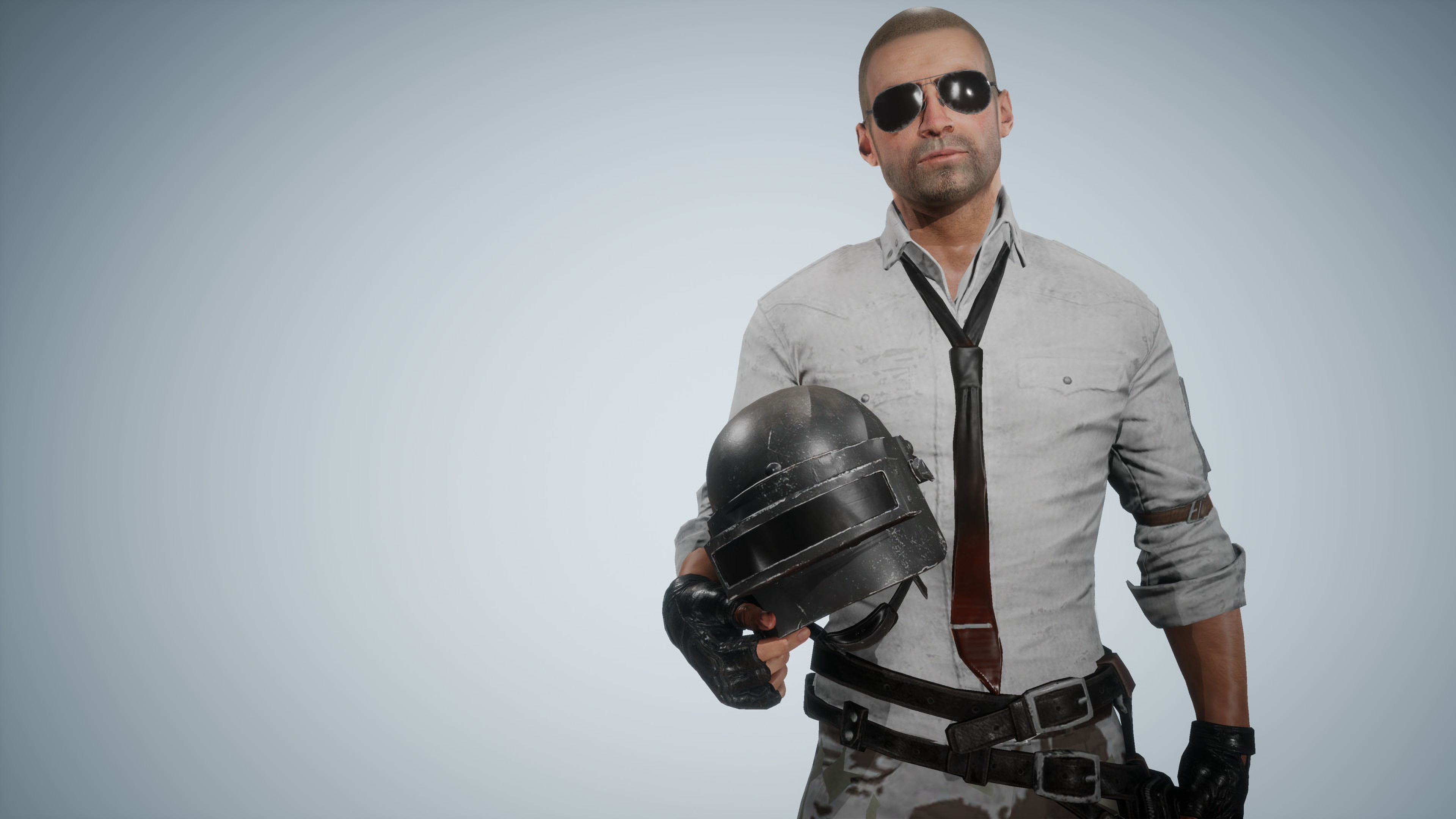 Pubg Helmet Guy Without Helmet, HD Games, 4k Wallpapers