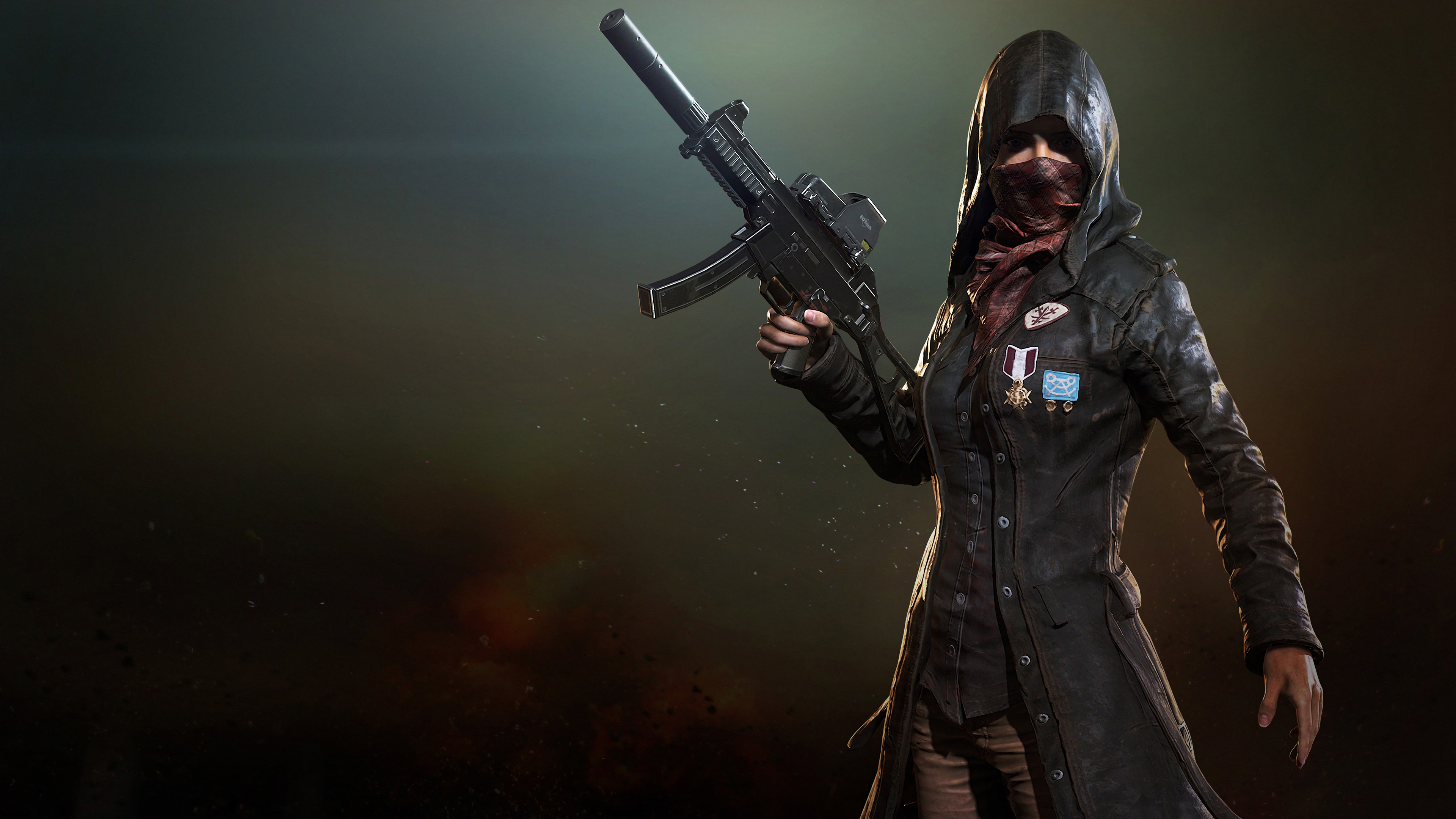 Pubg Squad Wallpaper 4k: Pubg Trenchcoat Girl 4k, HD Games, 4k Wallpapers, Images