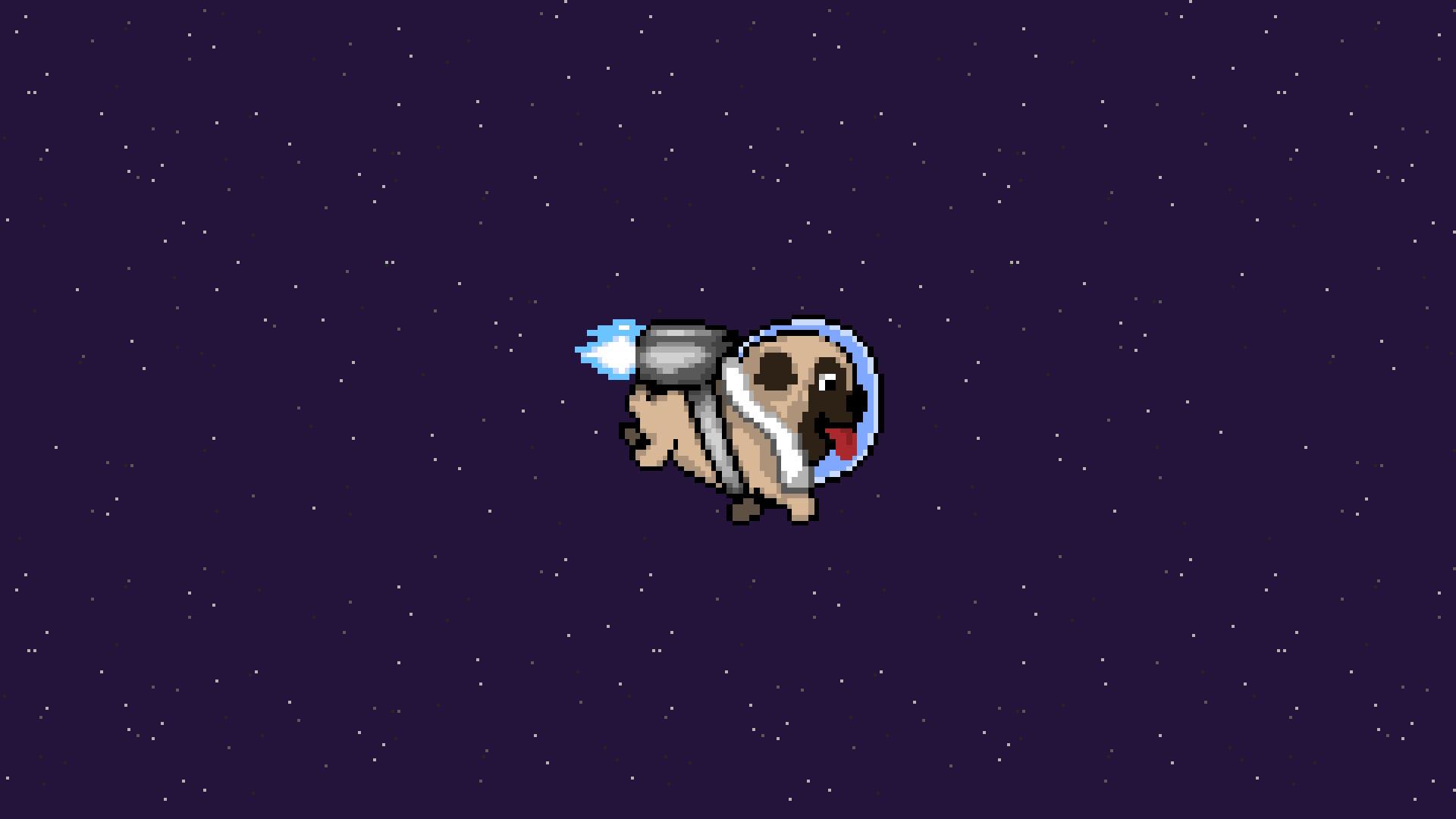 pug dog minimalism, hd artist, 4k wallpapers, images, backgrounds
