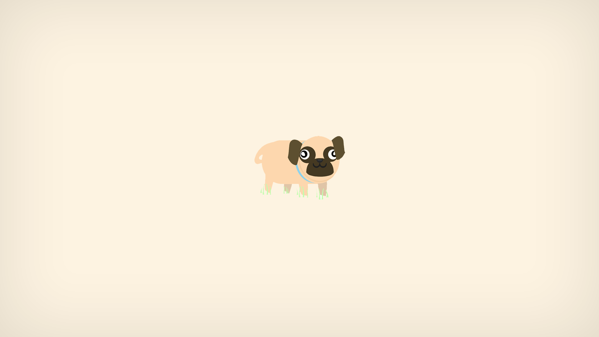 Pug Minimalism, HD Artist, 4k Wallpapers, Images