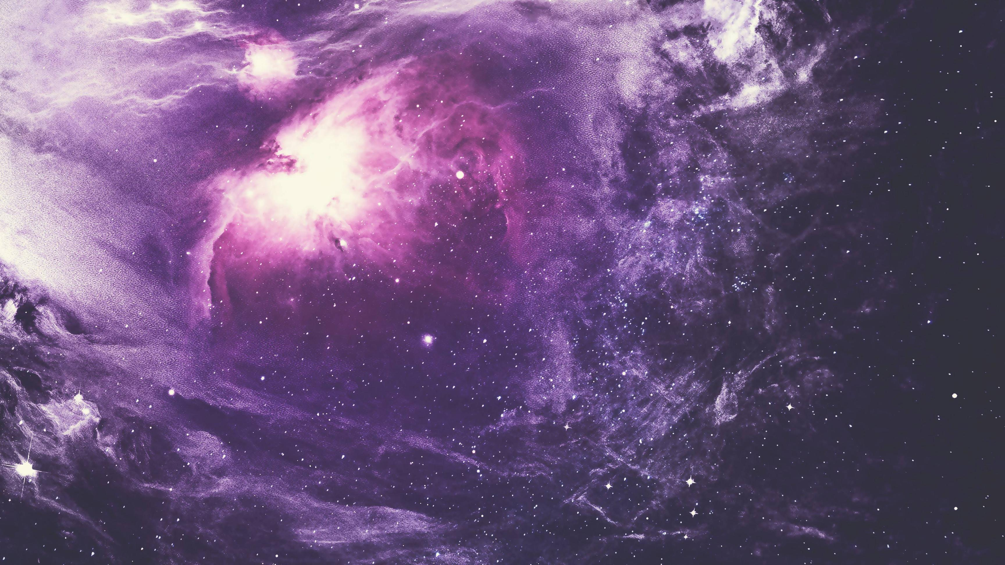 purple nebula 4k, hd digital universe, 4k wallpapers, images