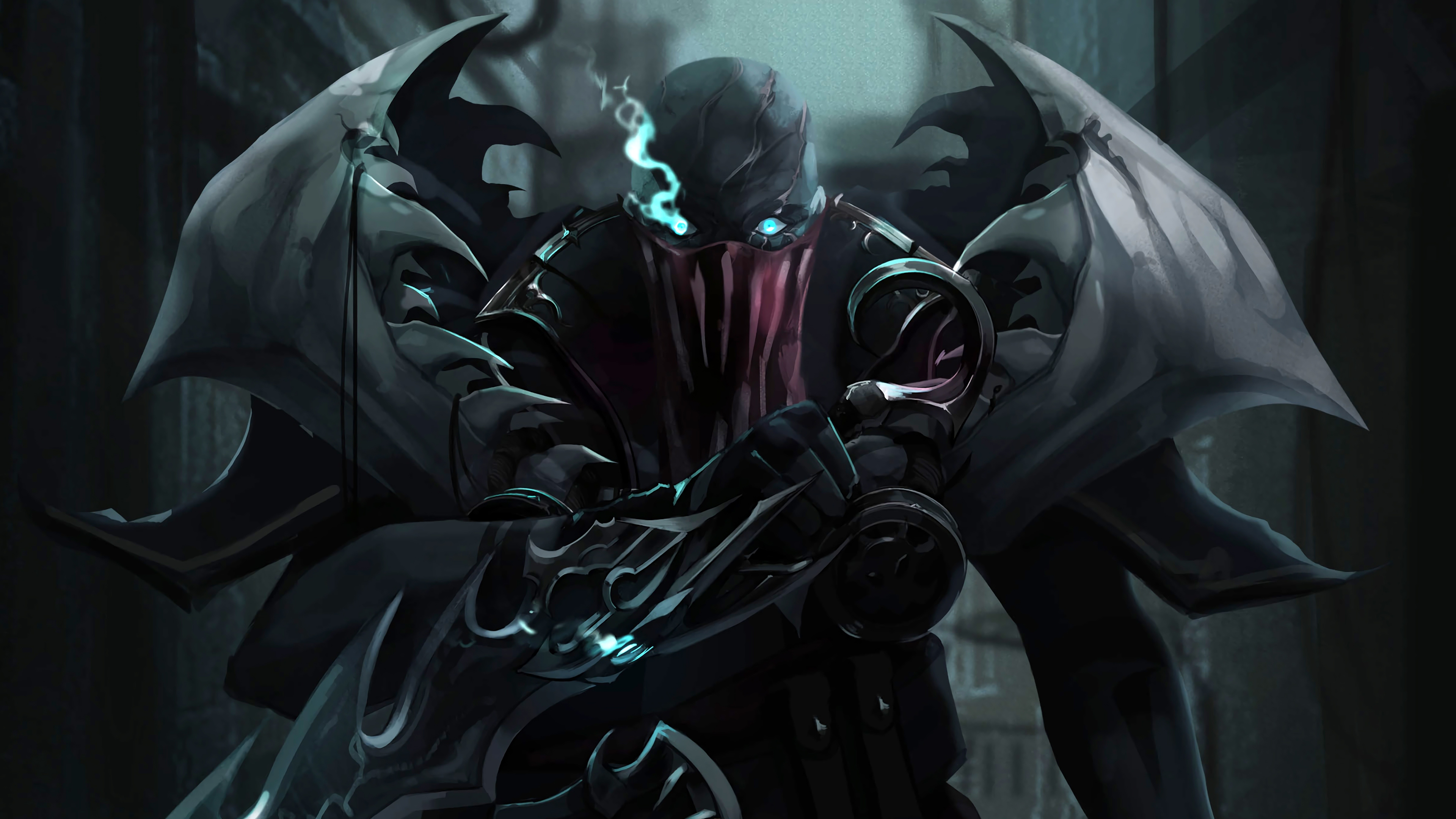 Pyke League Of Legends 4k Hd Games 4k Wallpapers Images