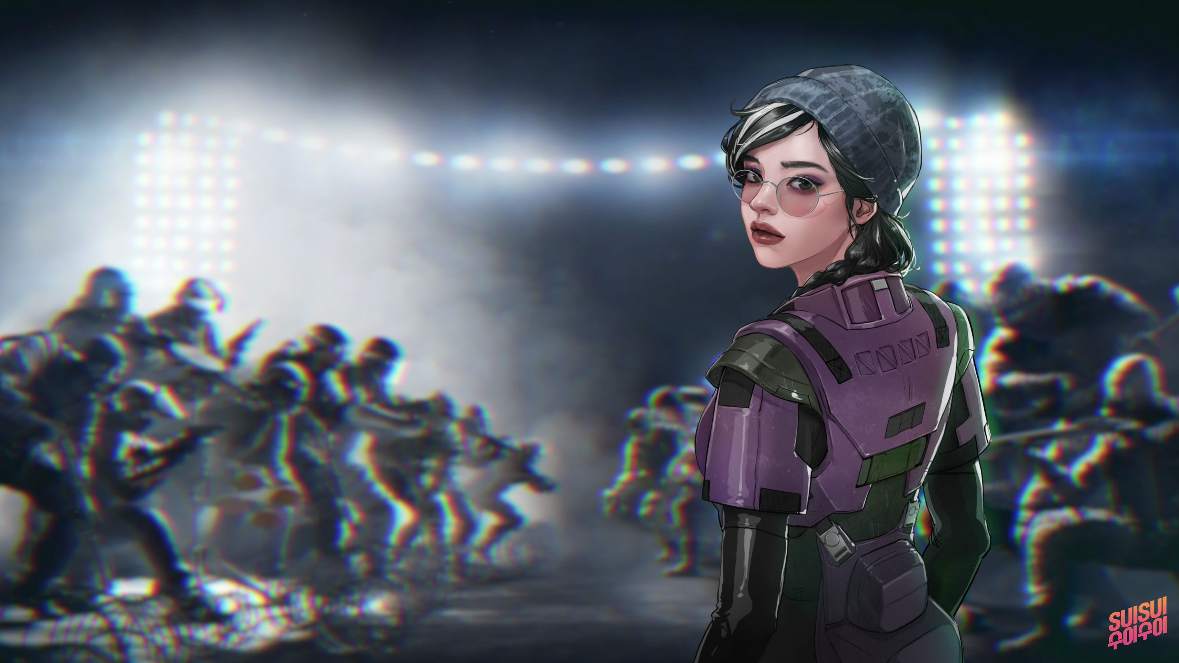 Rainbow Six Siege Wallpaper 4k: Rainbow Six Siege Dokkaebi Artwork 4k, HD Games, 4k