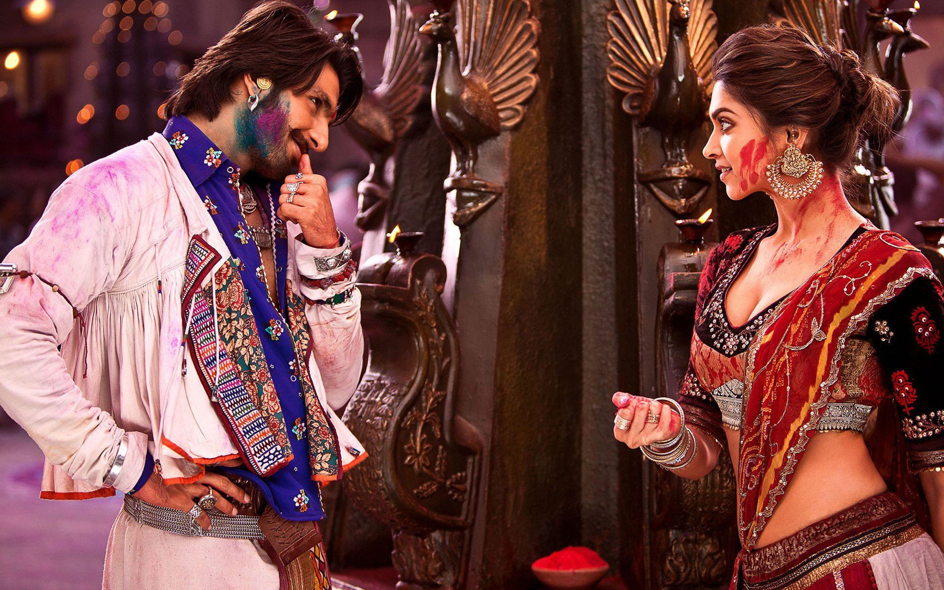 ram leela movie scene, hd indian celebrities, 4k wallpapers, images