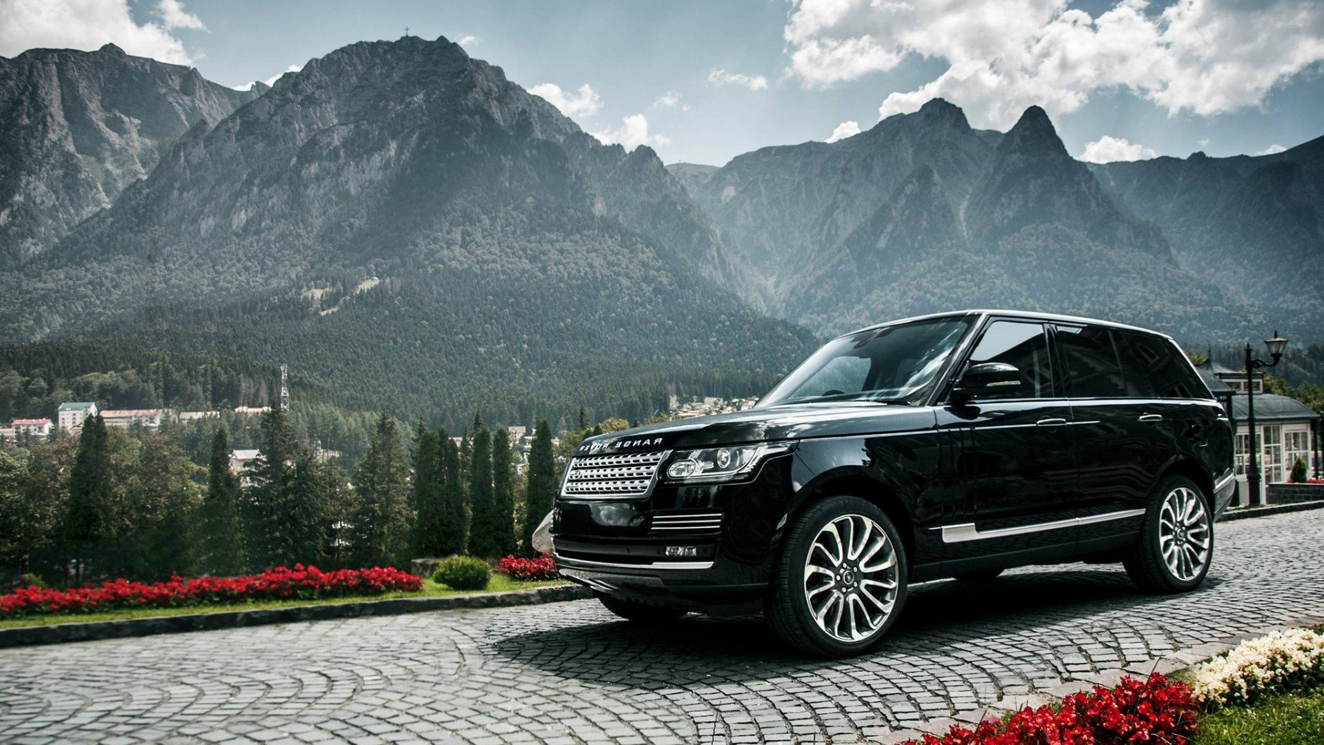 Range Rover Black Hd Cars 4k Wallpapers Images Backgrounds