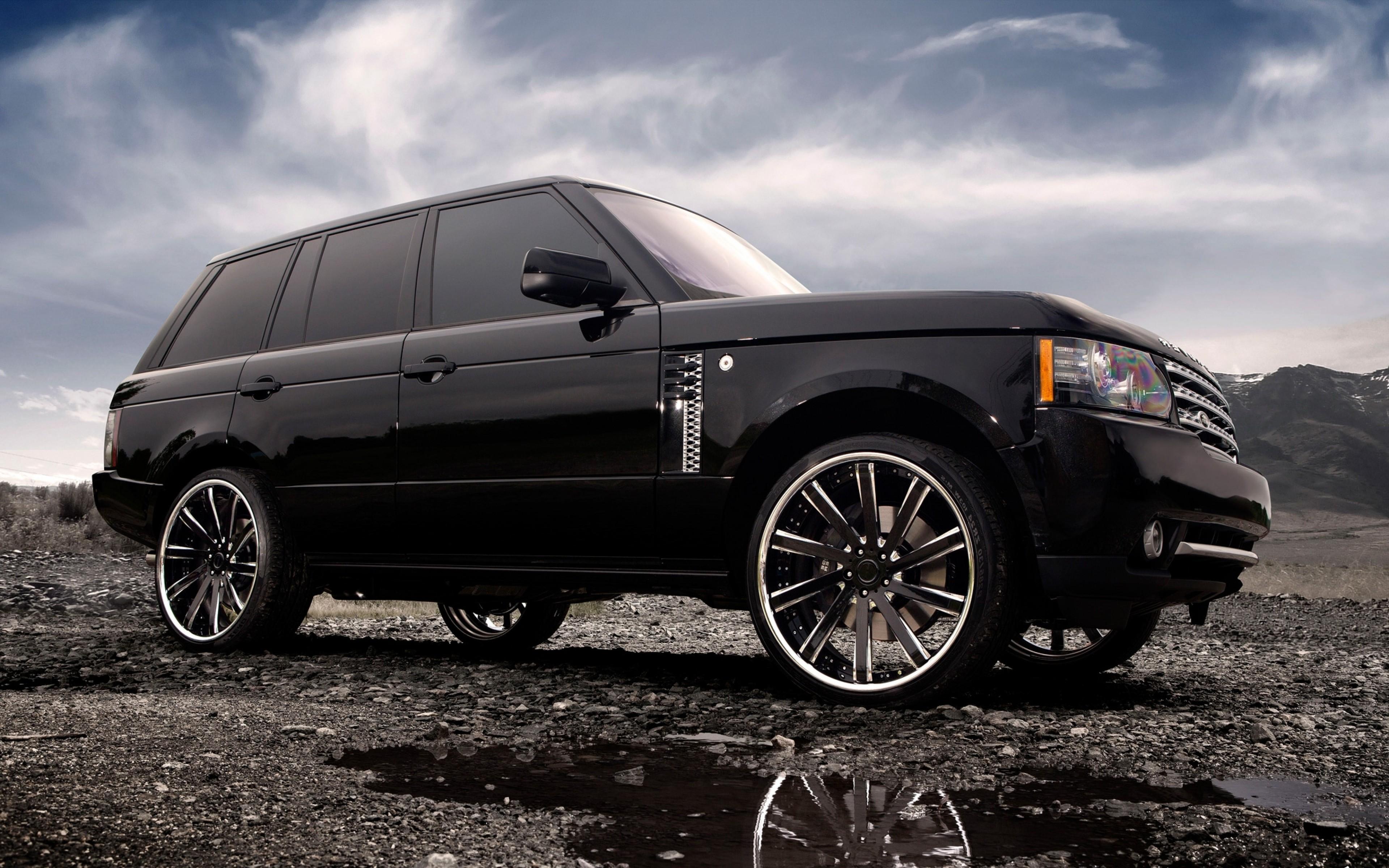 Download Logo Range Rover Hd: 2048x2048 Range Rover Tuned Wheels Black Ipad Air HD 4k