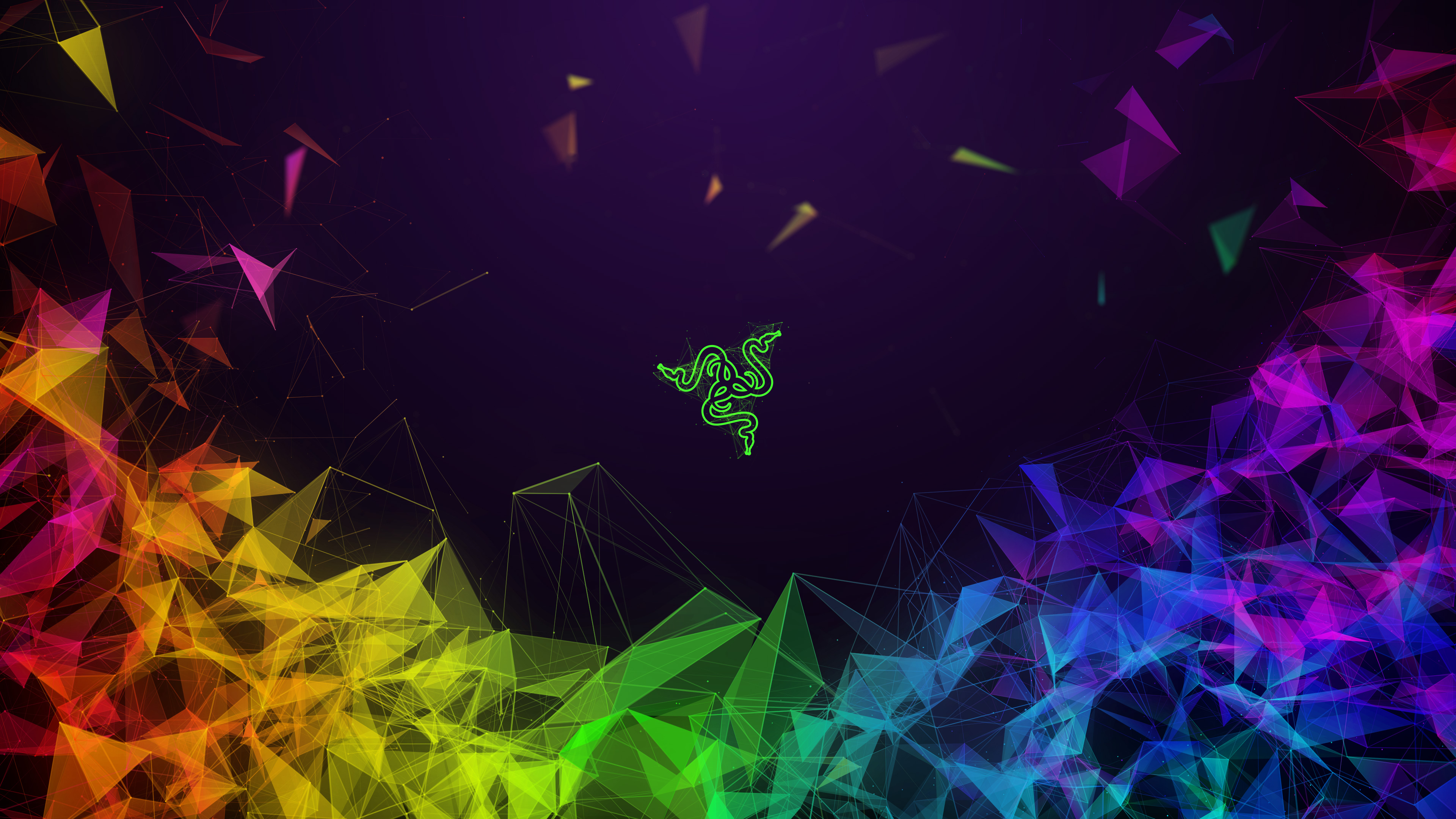 Razer Colorful Abstract 4k Hd Abstract 4k Wallpapers