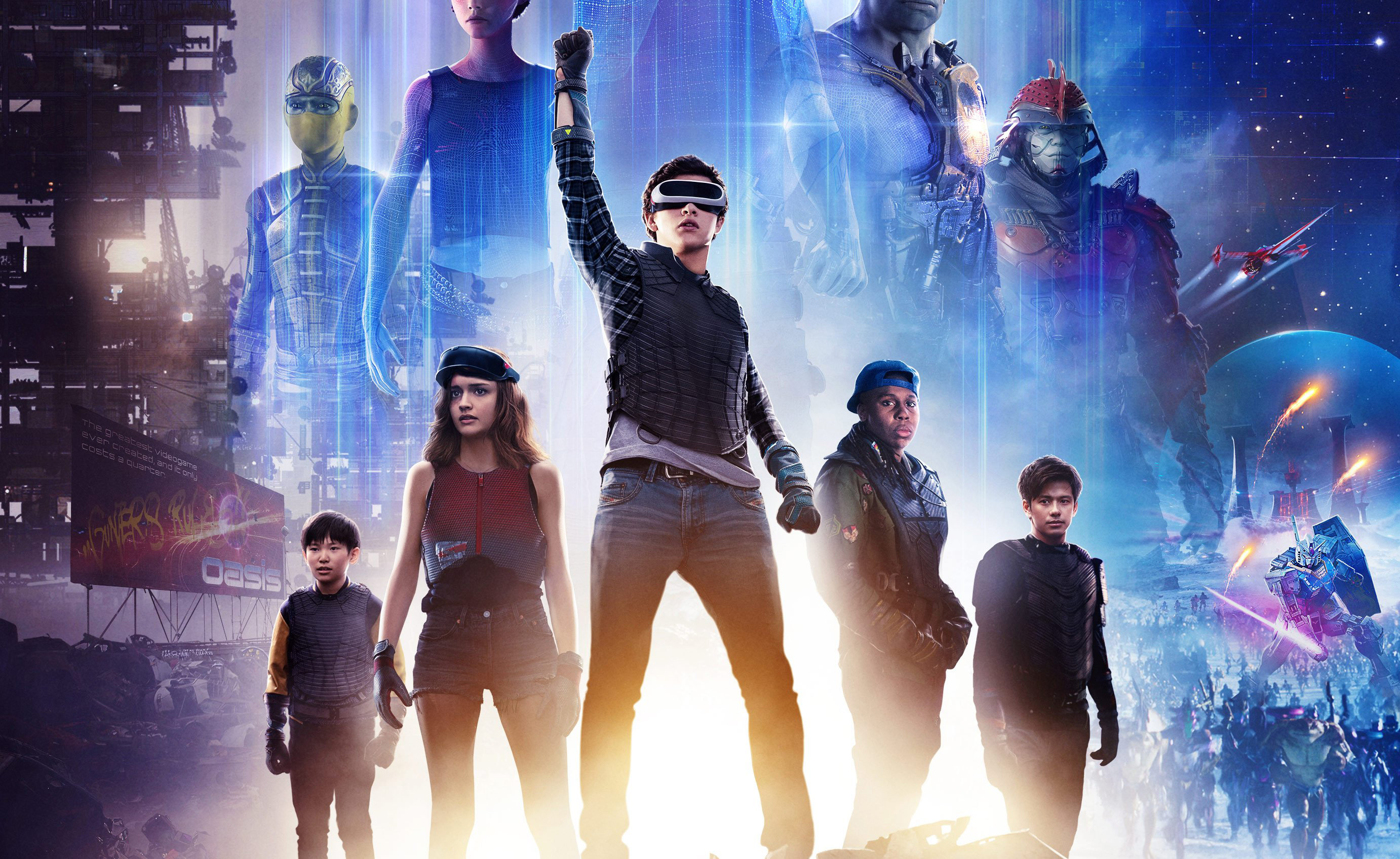 Ready Player One 2018 Movie Poster Hd Movies 4k Wallpapers