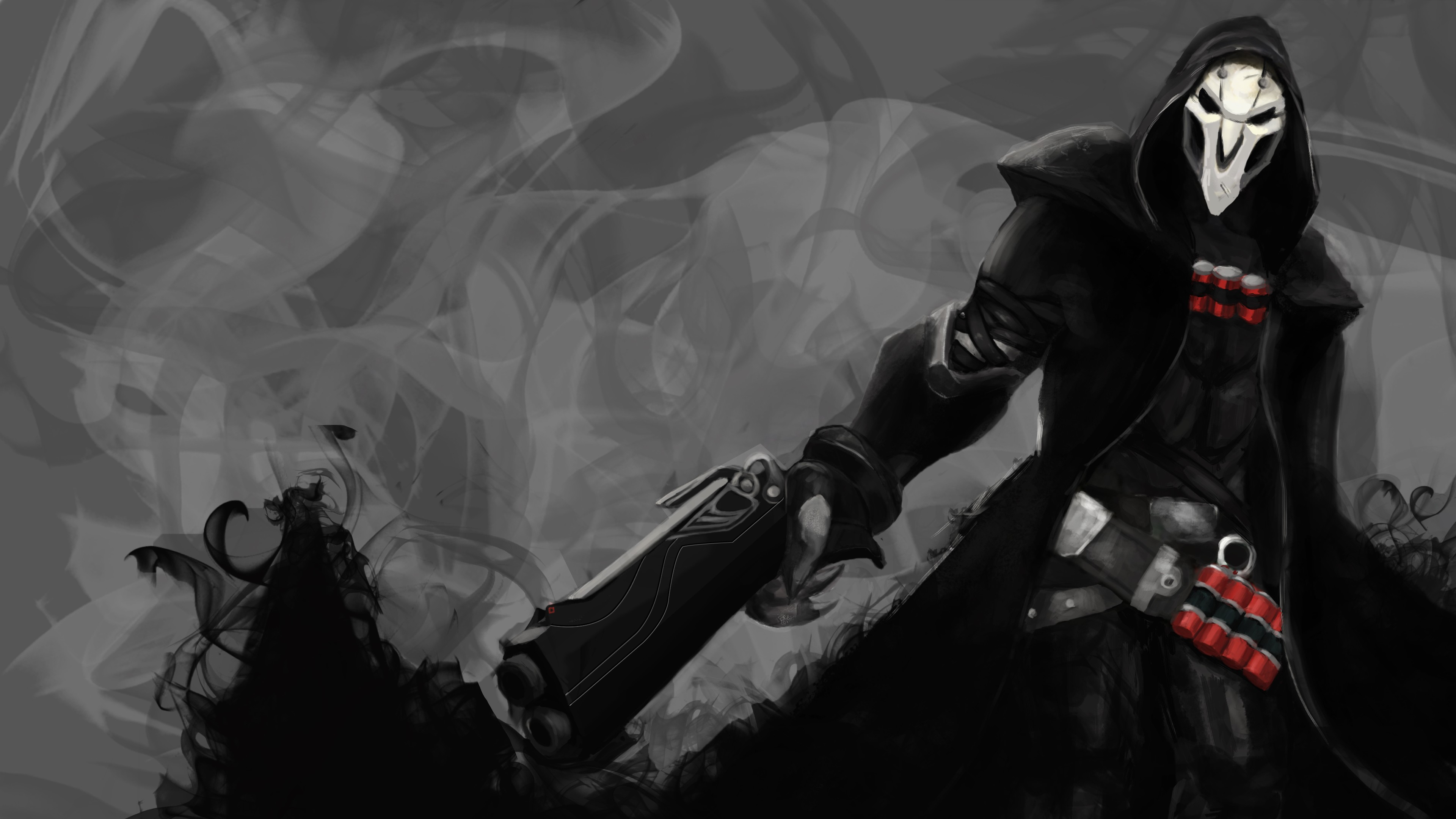1400x900 Reaper Overwatch 4k 1400x900 Resolution Hd 4k