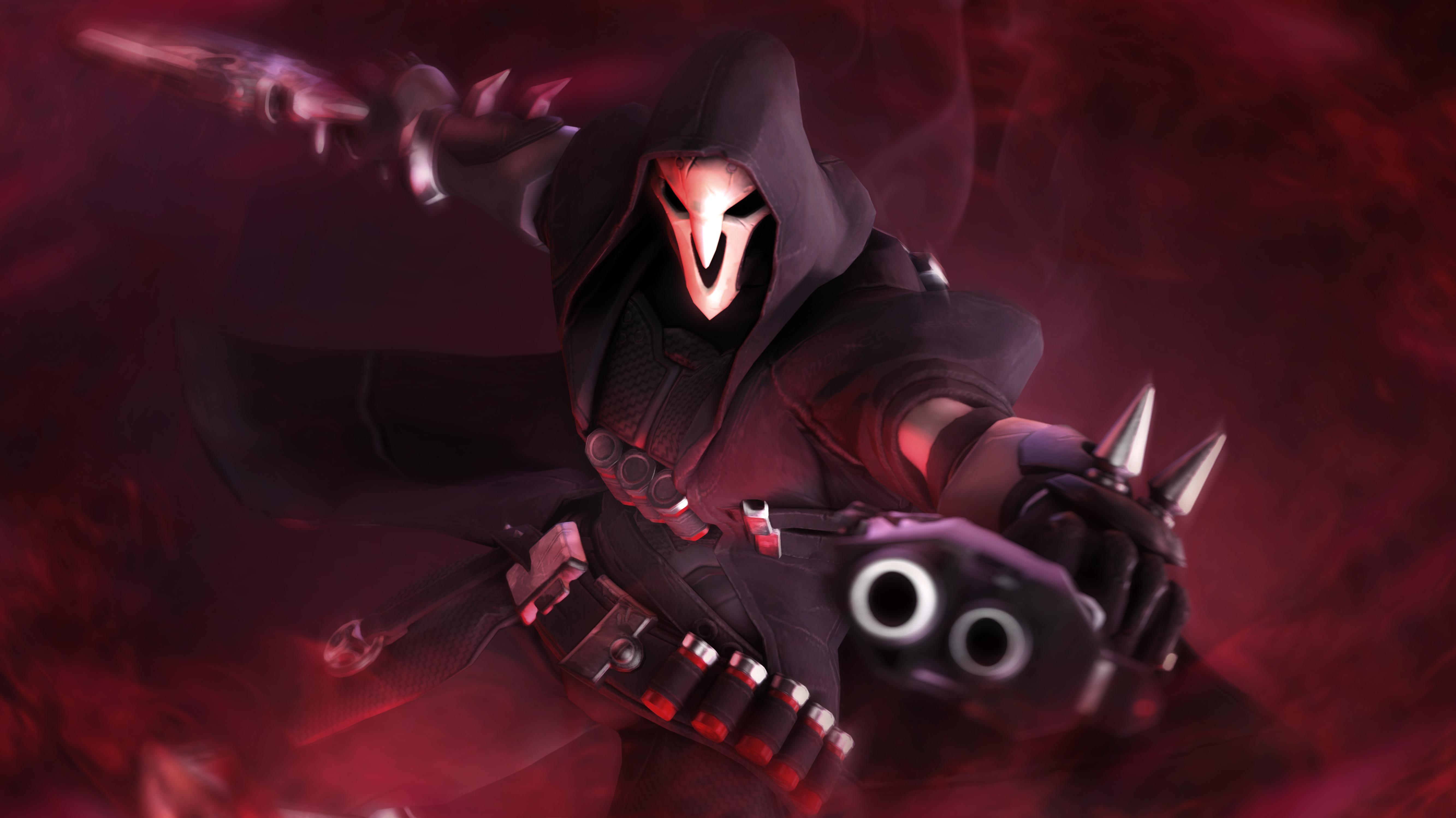 Reaper Overwatch 5k Hd Games 4k Wallpapers Images