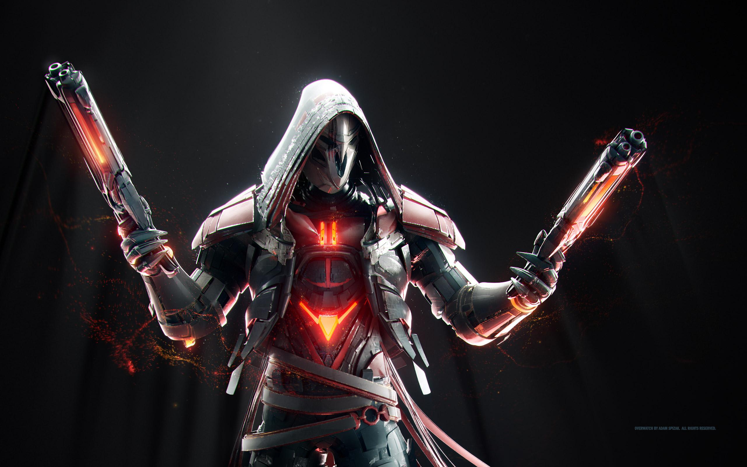 Reaper Overwatch Artwork Hd Hd Games 4k Wallpapers Images