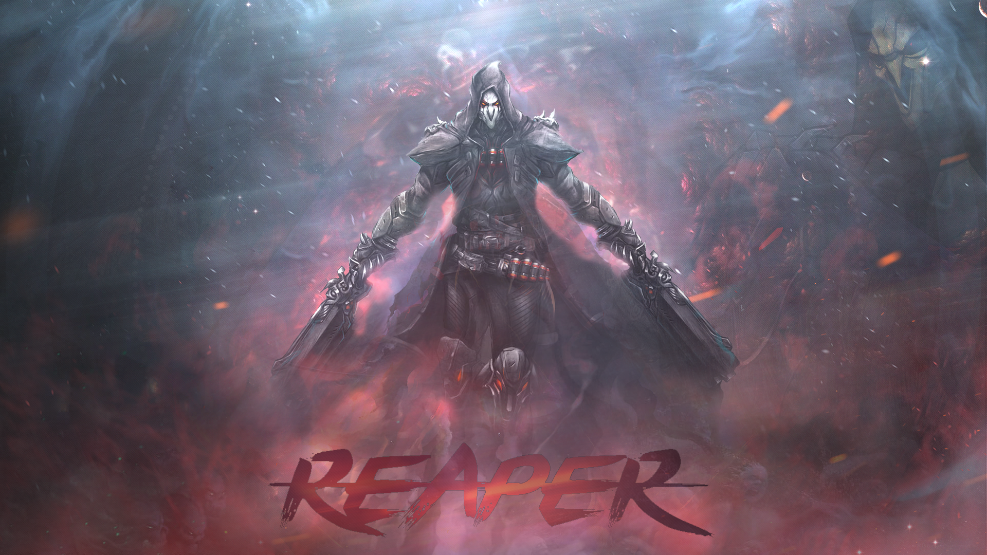 reaper overwatch hd games 4k wallpapers images