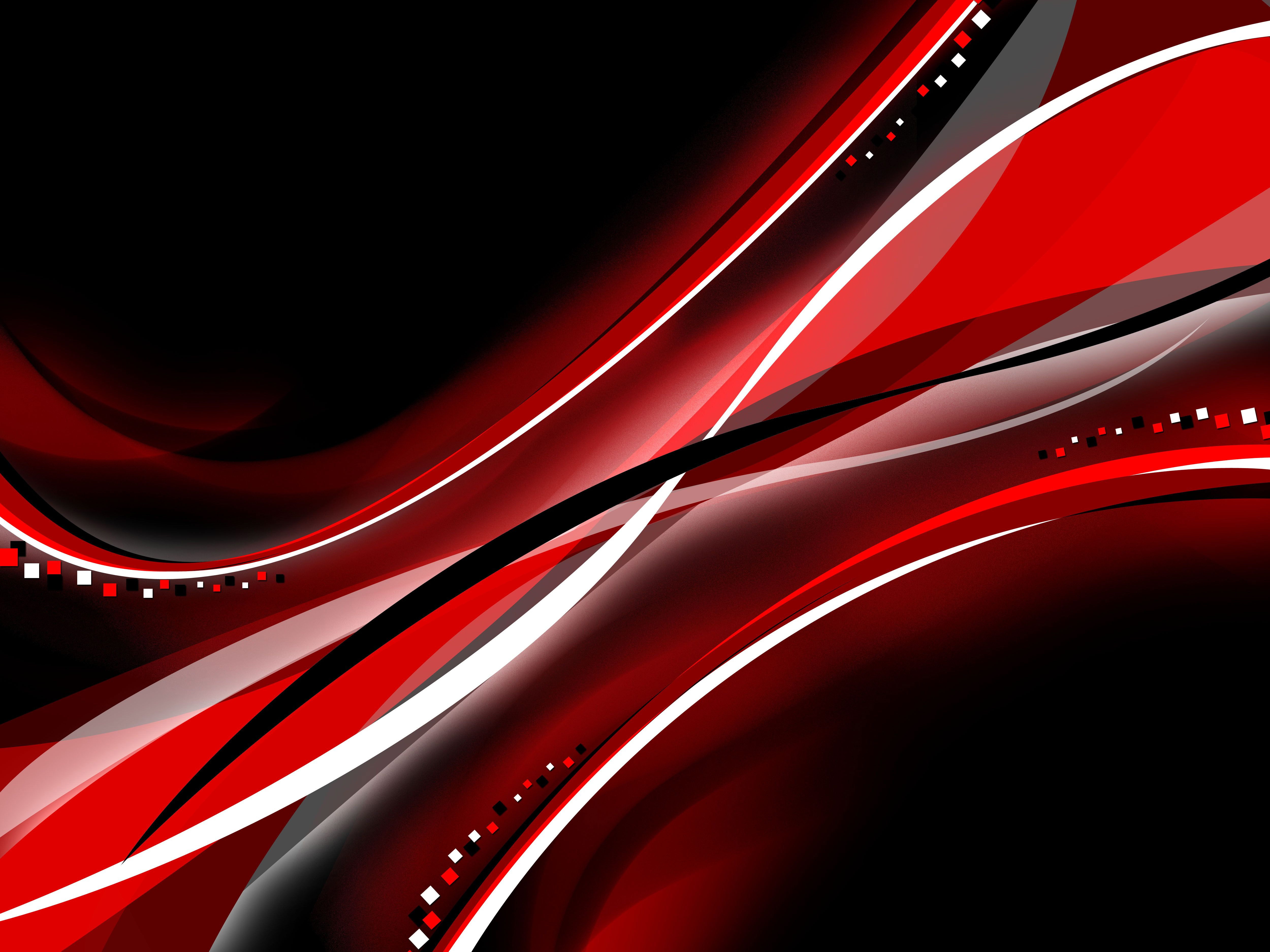 Red Black Color Interval Abstract 4k Hd Abstract 4k