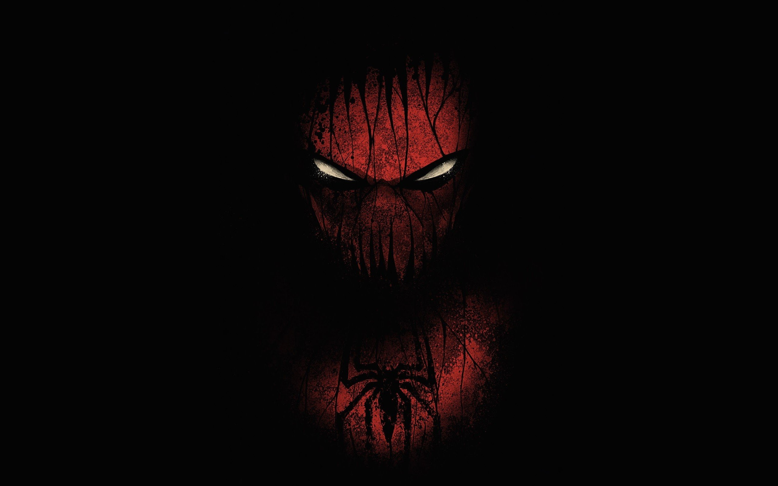 Red Black Spiderman Hd Superheroes 4k Wallpapers Images