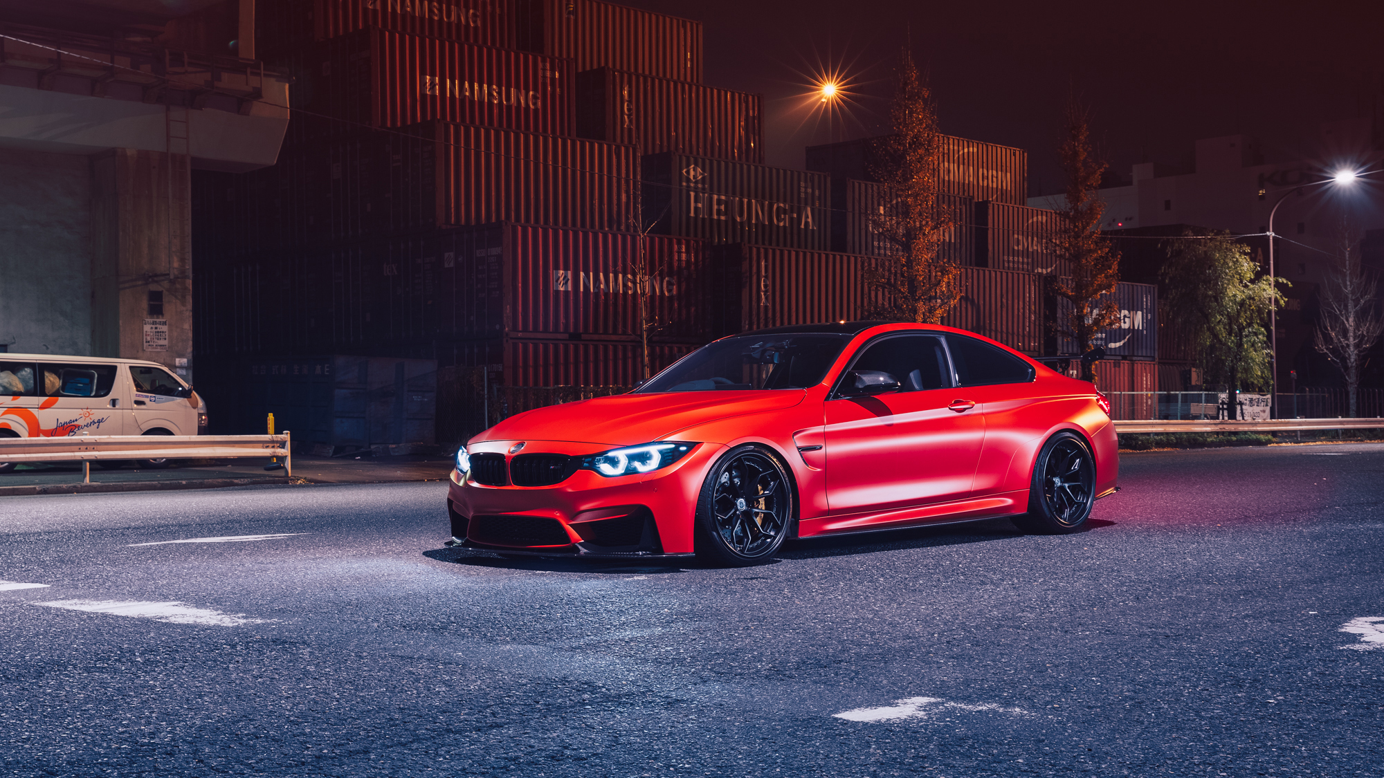 Red Bmw M4 Hd Cars 4k Wallpapers Images Backgrounds