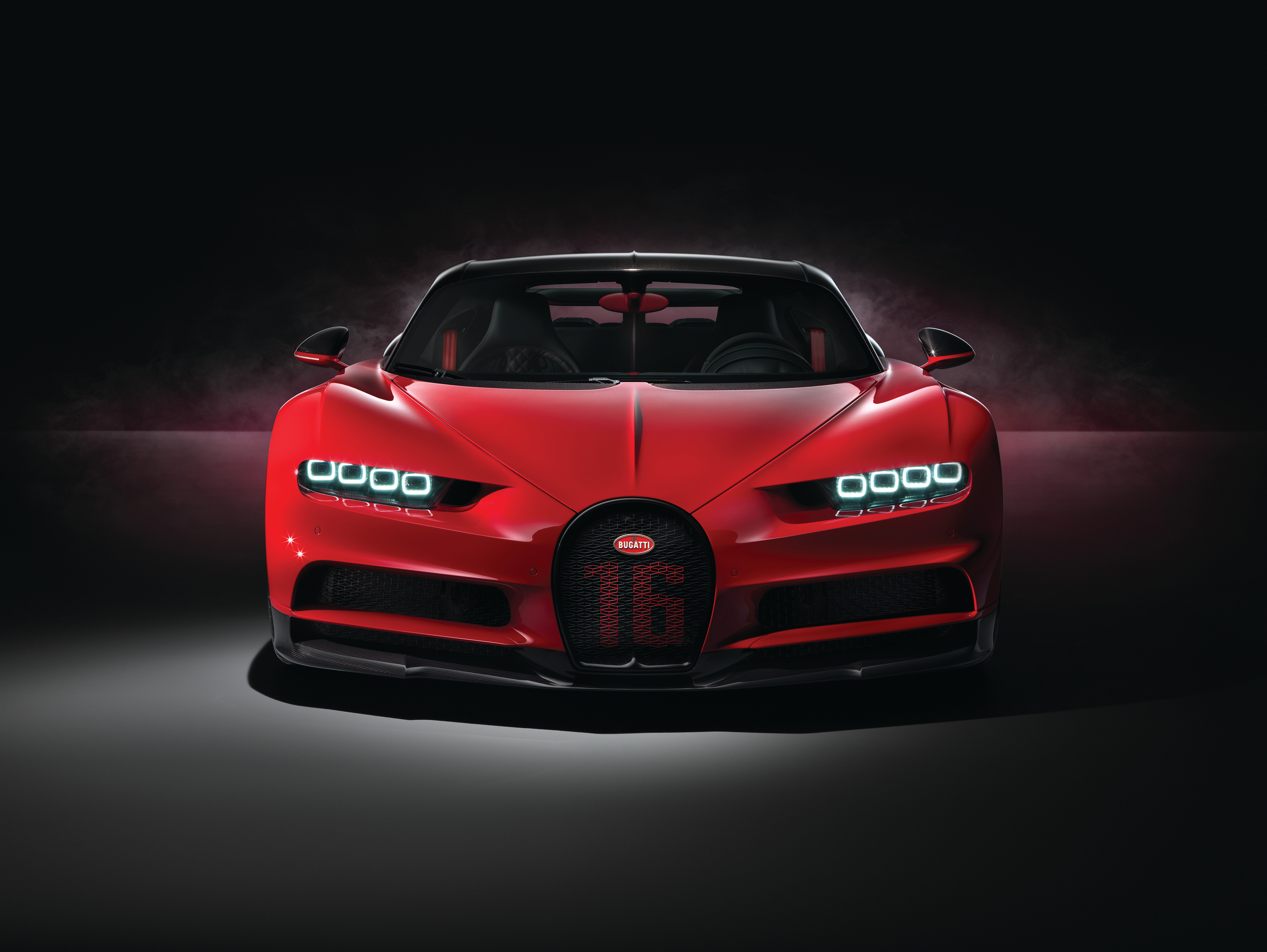 Red Bugatti Chiron Sport 2018 4k Hd Cars 4k Wallpapers