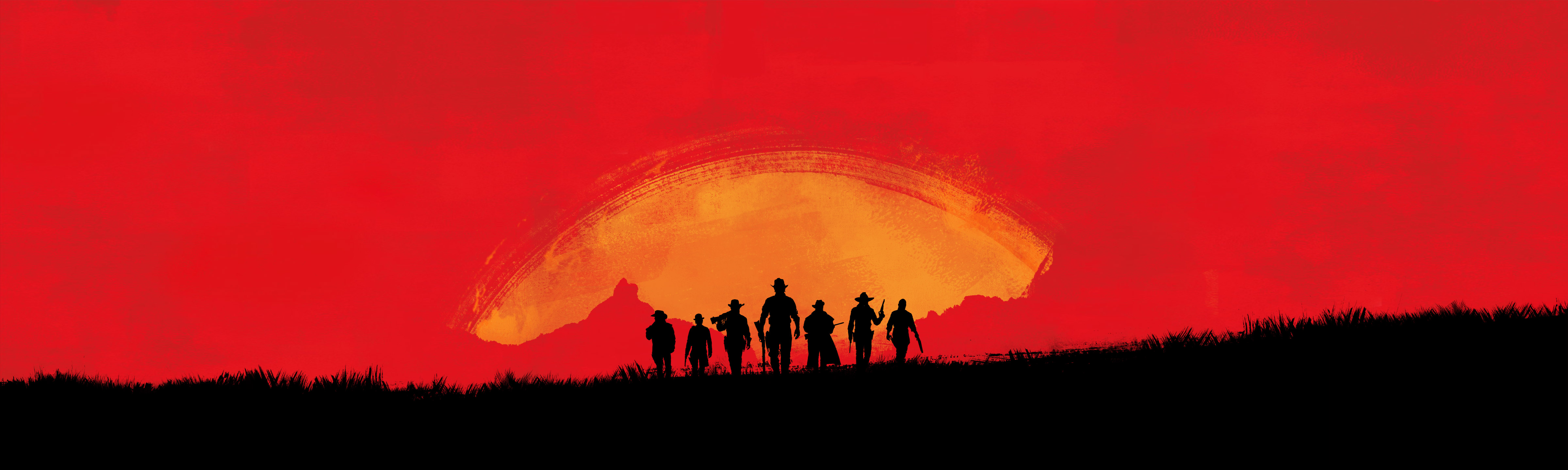 Rockstar Red Dead 3 Teaser Art
