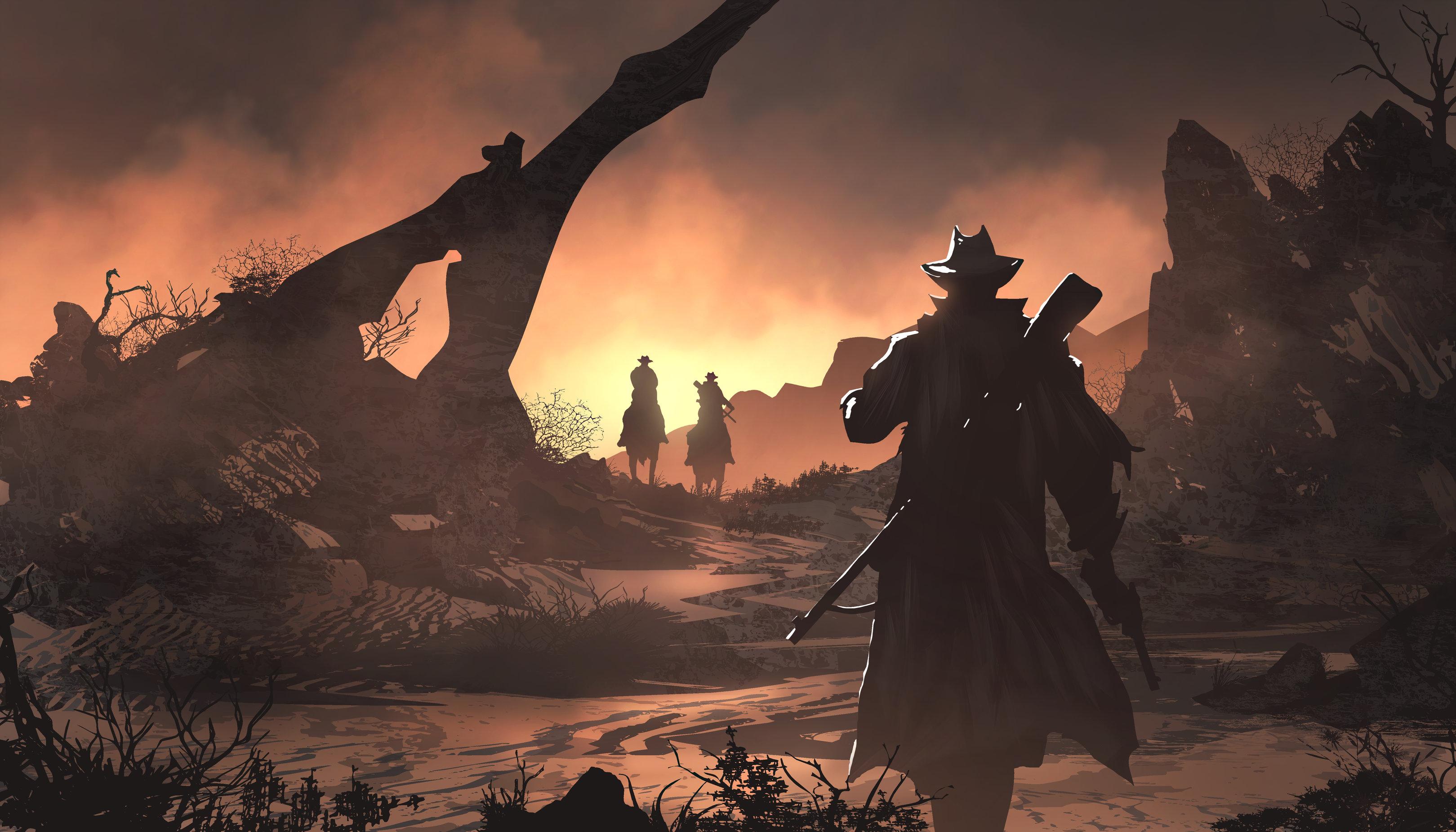 4k Wallpaper Fanart Pubattlegrounds: Red Dead Redemption 2 Fan Art 4k, HD Games, 4k Wallpapers