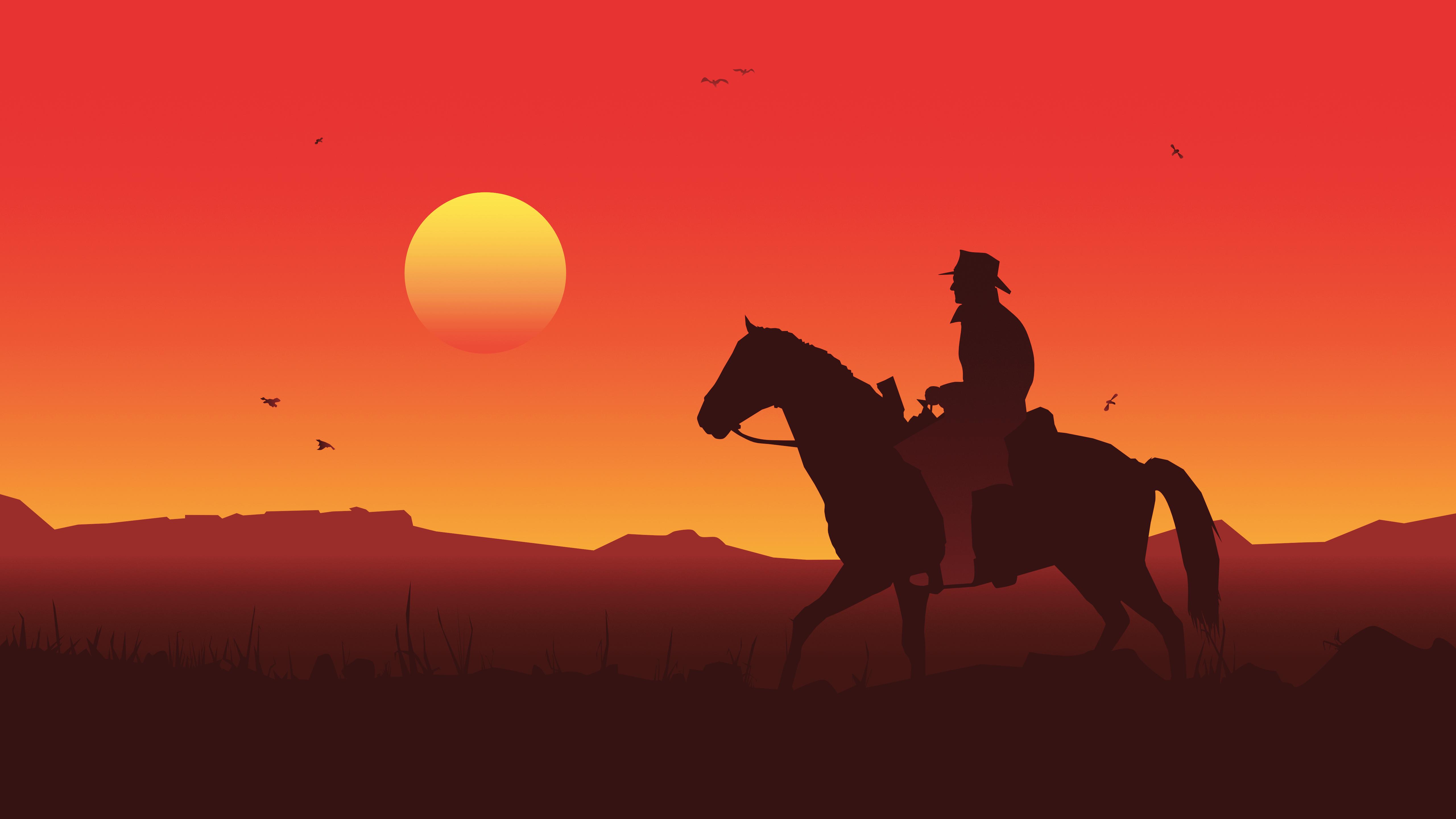 Red Dead Redemption 2 Illustration 5k, HD Games, 4k ...