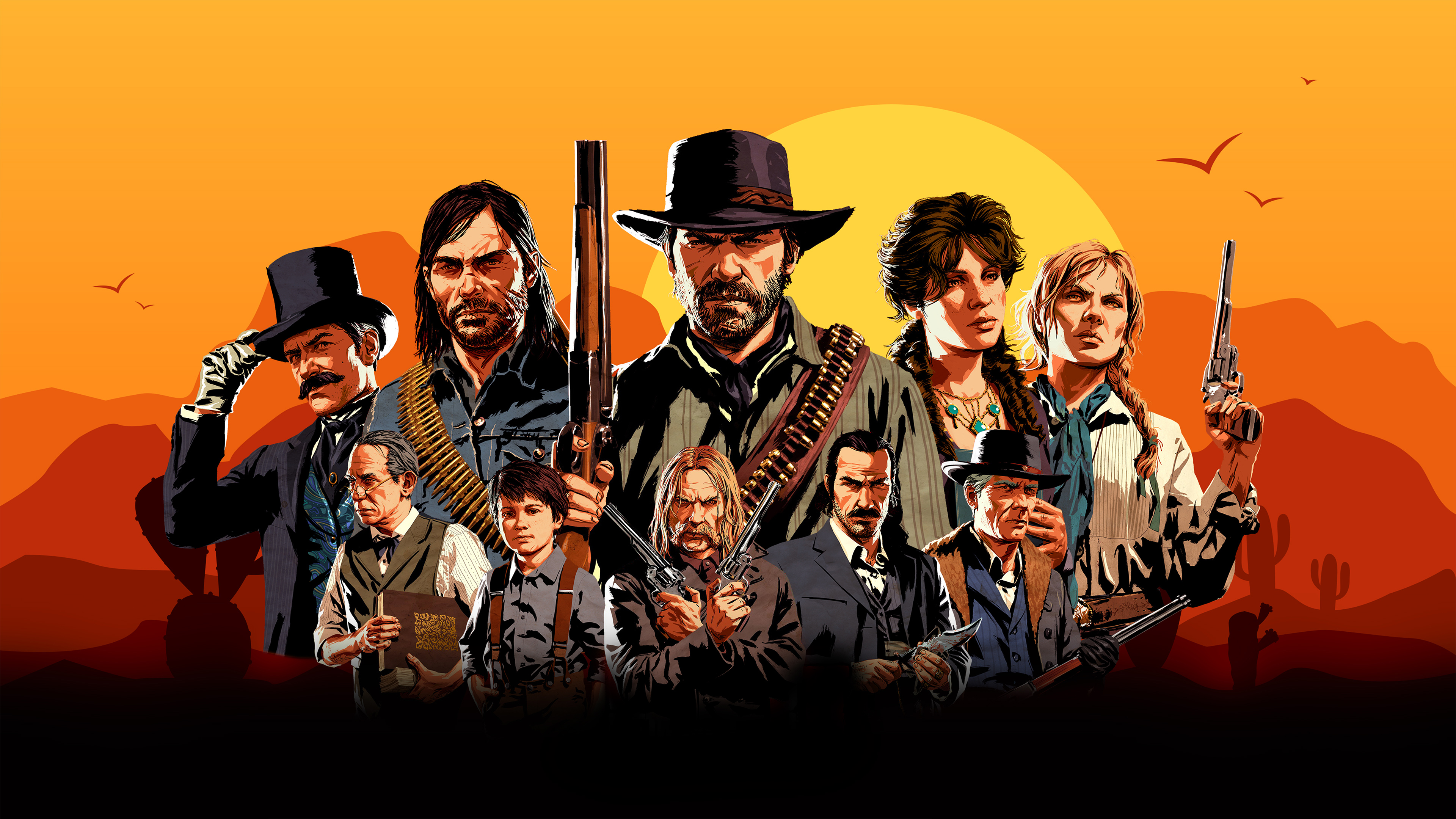 Red Dead Redemption 2 Video Game 4k, HD Games, 4k Wallpapers, Images, Backgrounds, Photos and ...