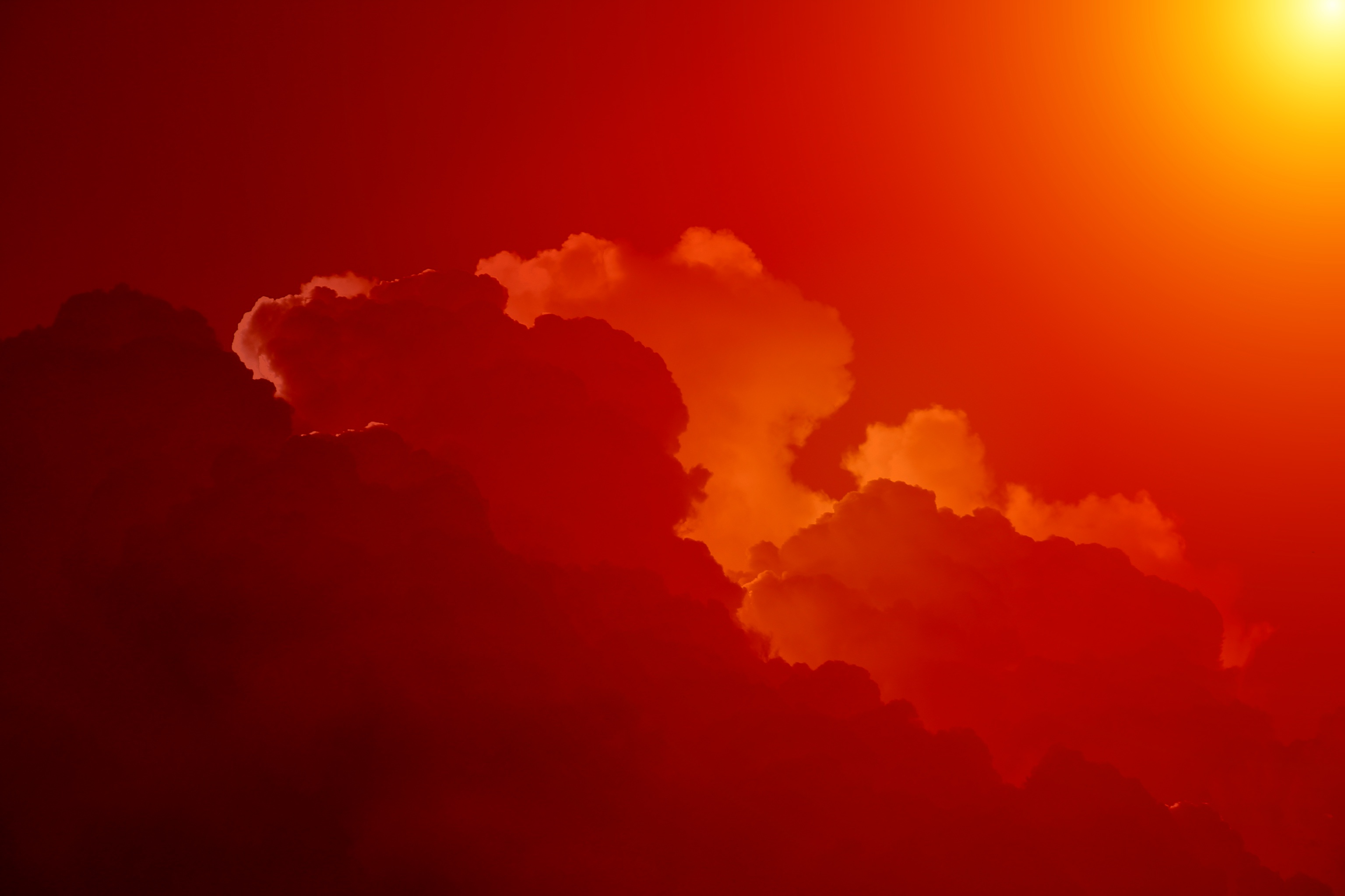 Red Sky Hd Nature 4k Wallpapers Images Backgrounds