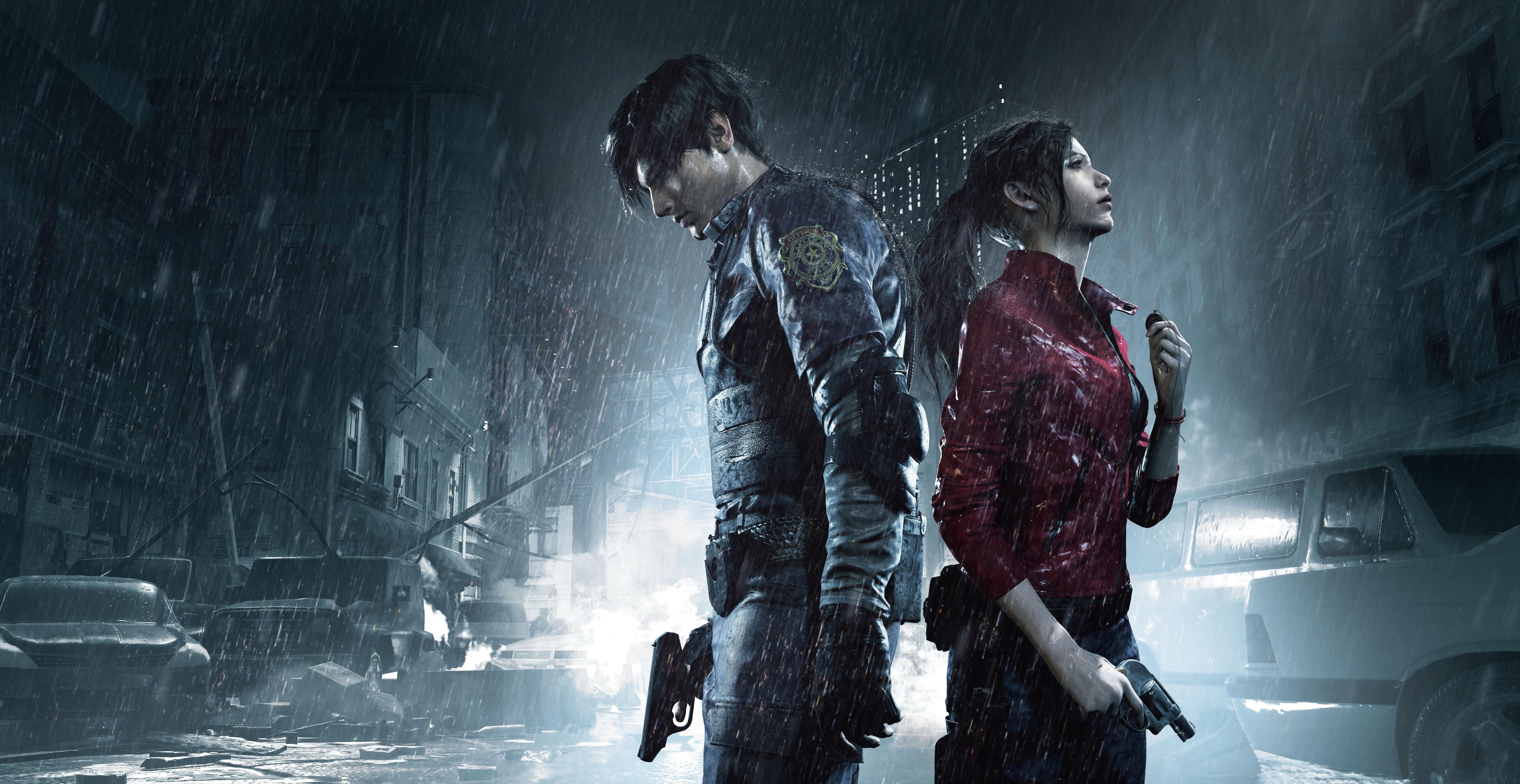 Resident Evil 2 Wallpaper: Resident Evil 2 2019 4k, HD Games, 4k Wallpapers, Images