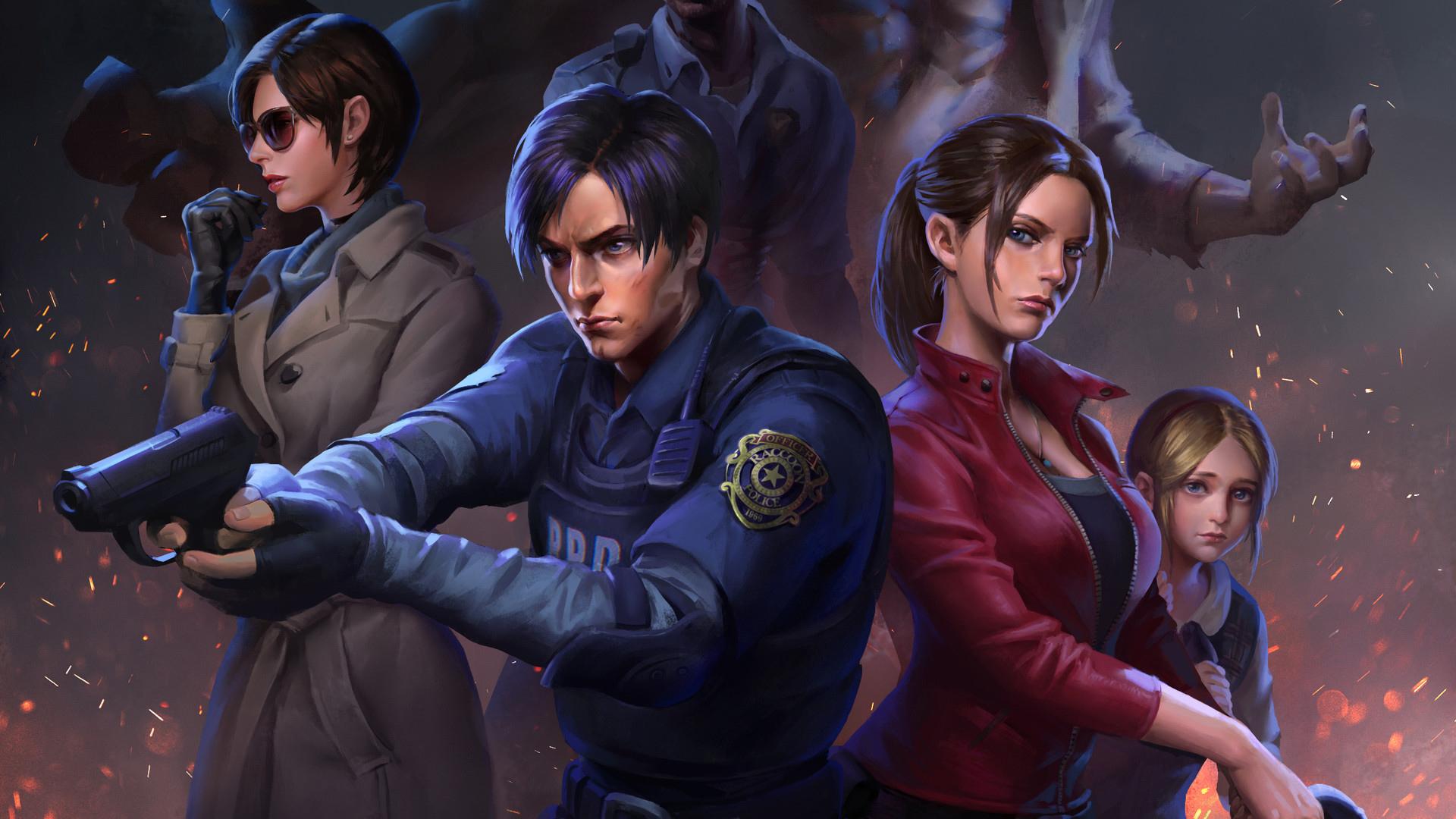 Resident Evil 2 Wallpaper: Resident Evil 2 Art, HD Games, 4k Wallpapers, Images